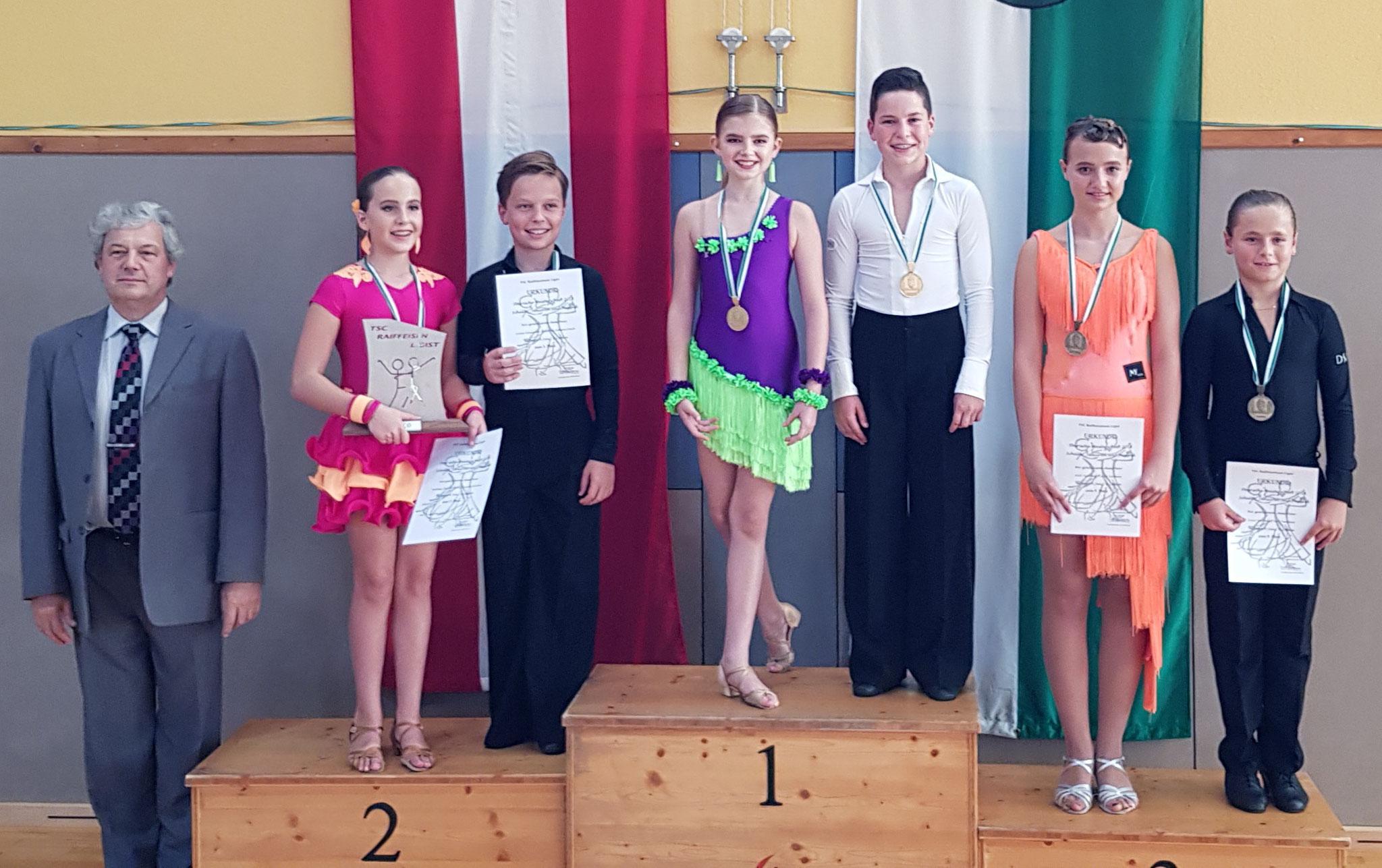 Junioren I Latein D - 1. Tim Frei/Emilia Ogris - TSC academy of dance