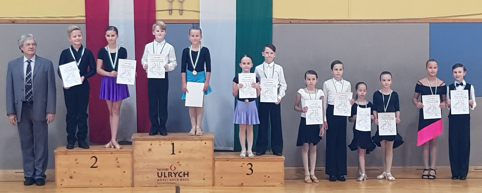 Schüler Latein Breitensport - 1. Paul Pongratz/Elina Schwentner - TSC academy of dance