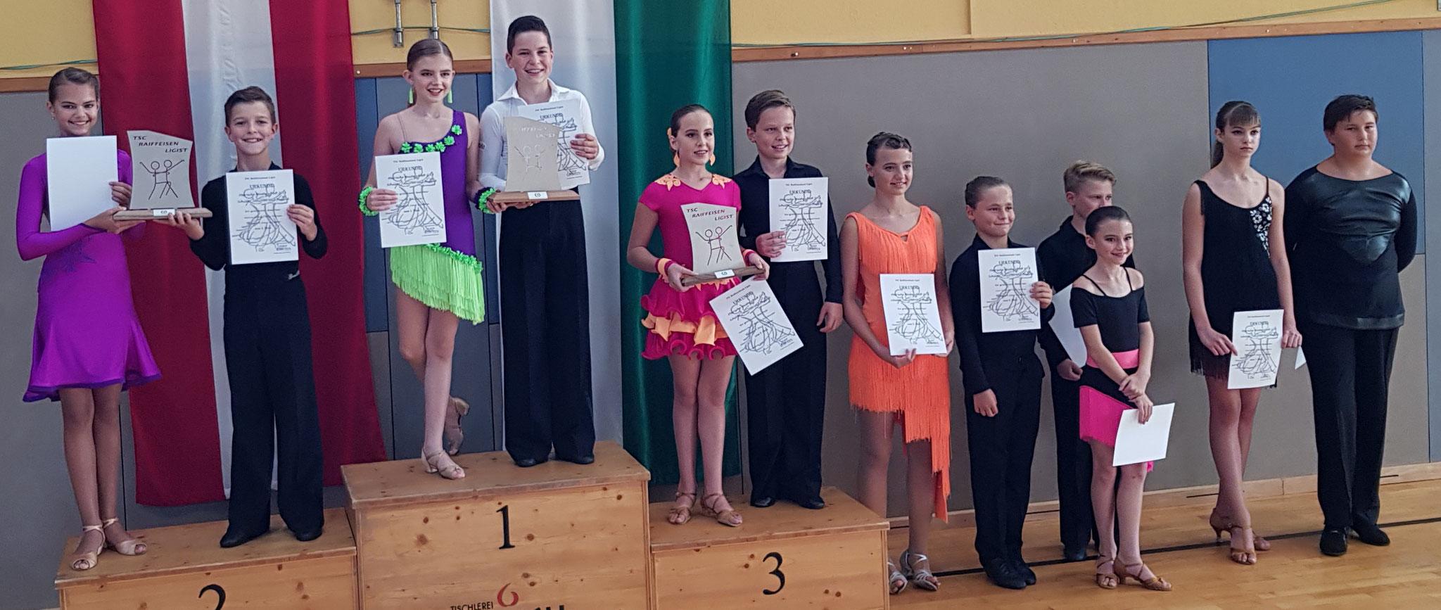 Junioren I Latein D - Steirischer Meister Tim Frei/Emilia Ogris - TSC academy of dance