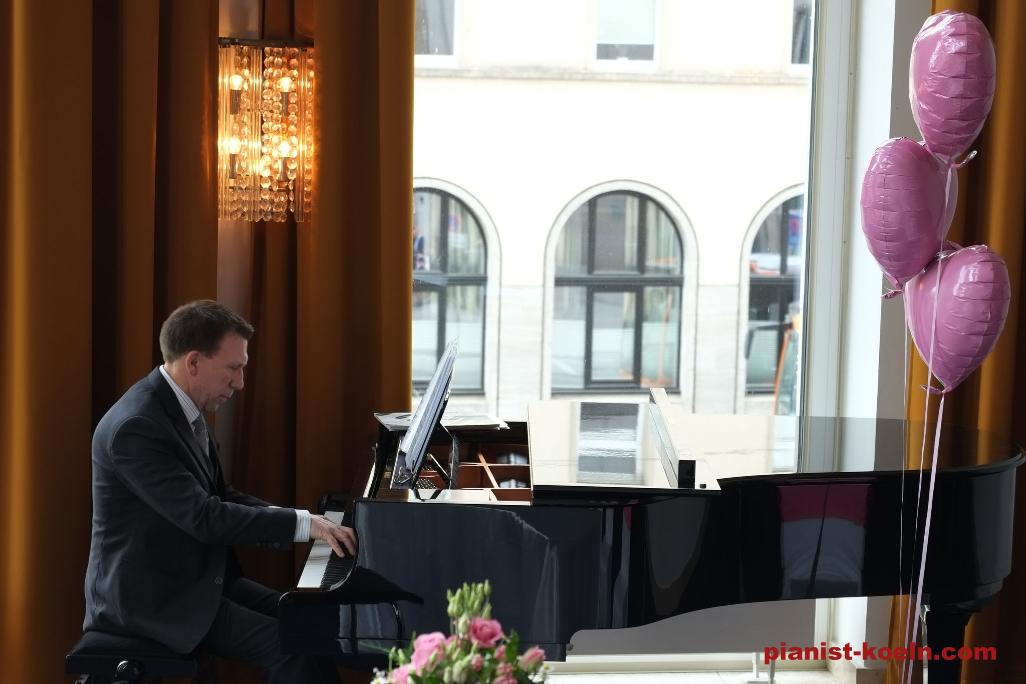 Auftritt im Opernhaus Wuppertal - Trauung