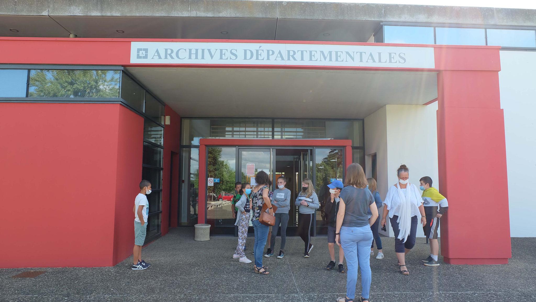 Les Archives Départementales à Auch
