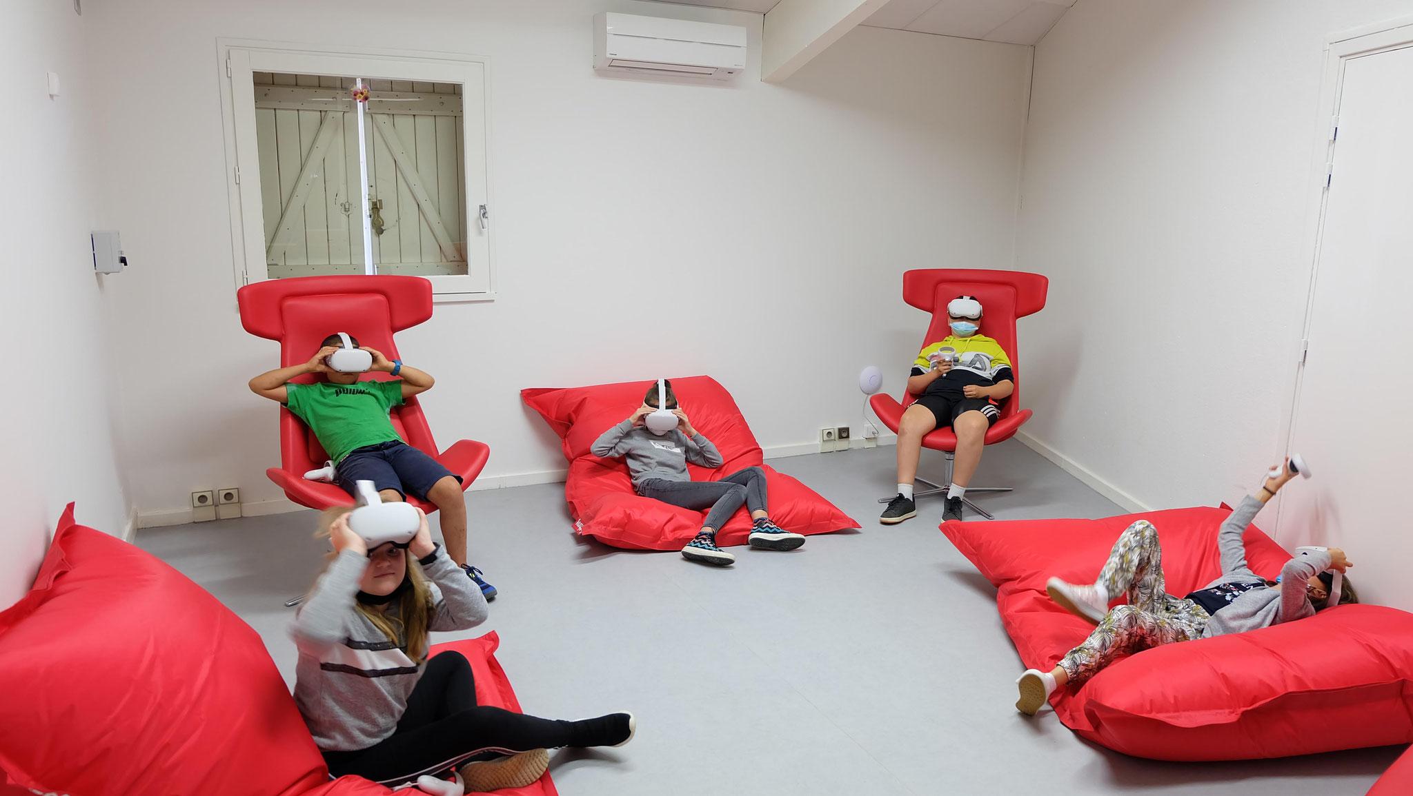 même les casques de réalité virtuelle y trouvent une place.