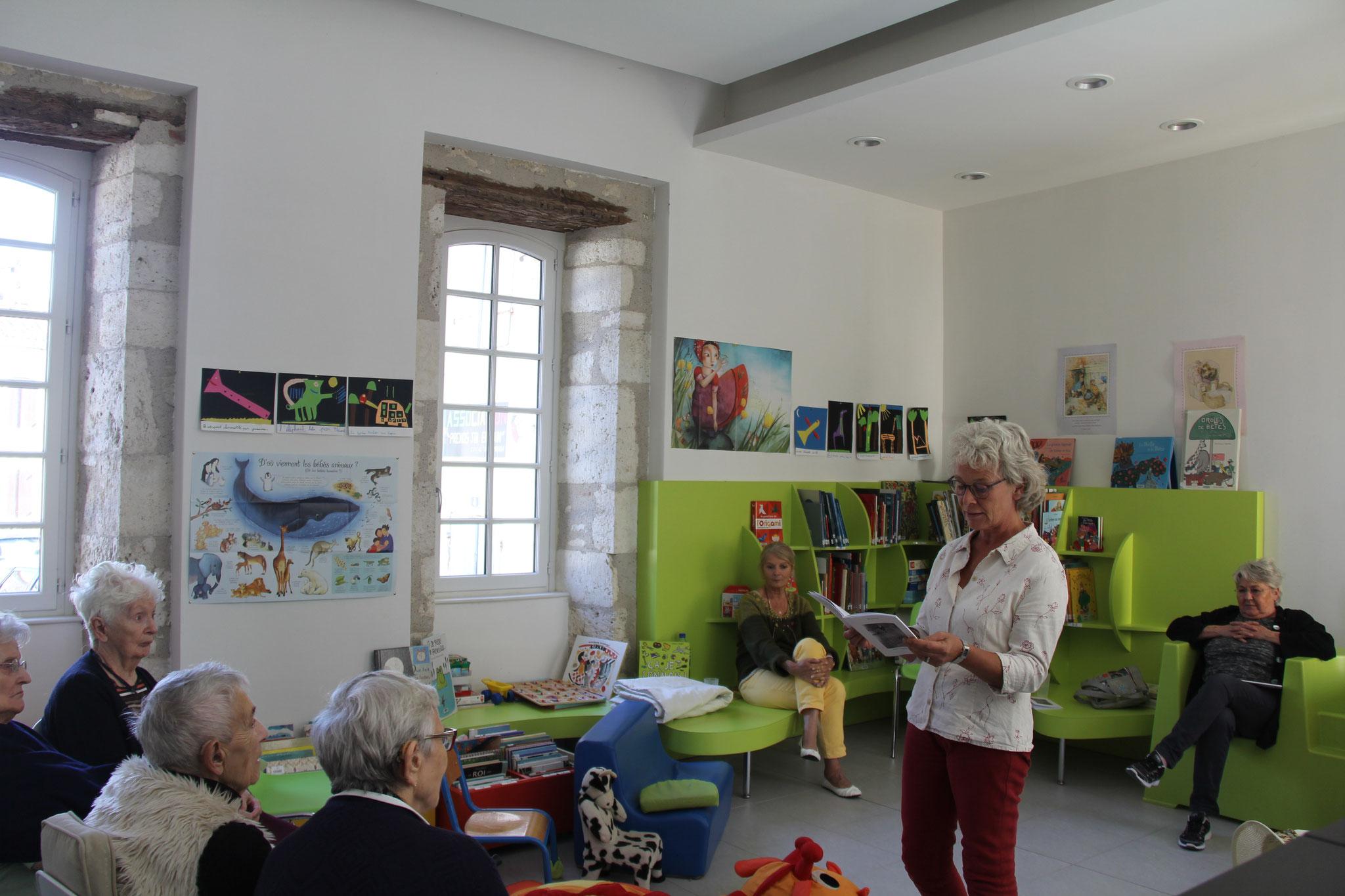 Réjane Peigny poursuit la présentation...