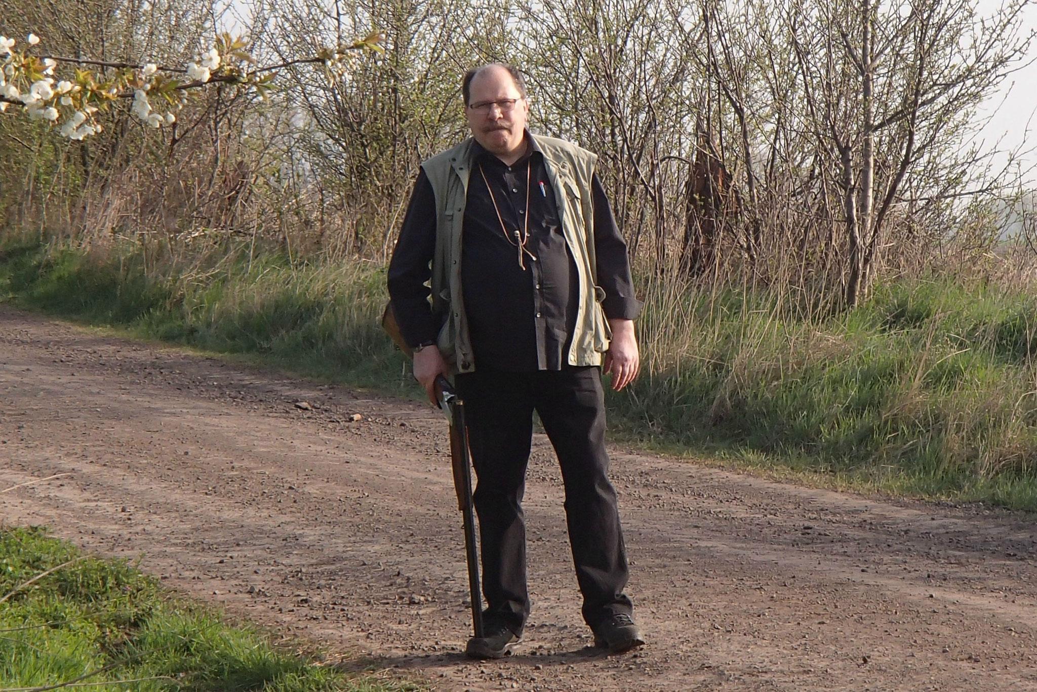 Axel Reger führt die Flinte