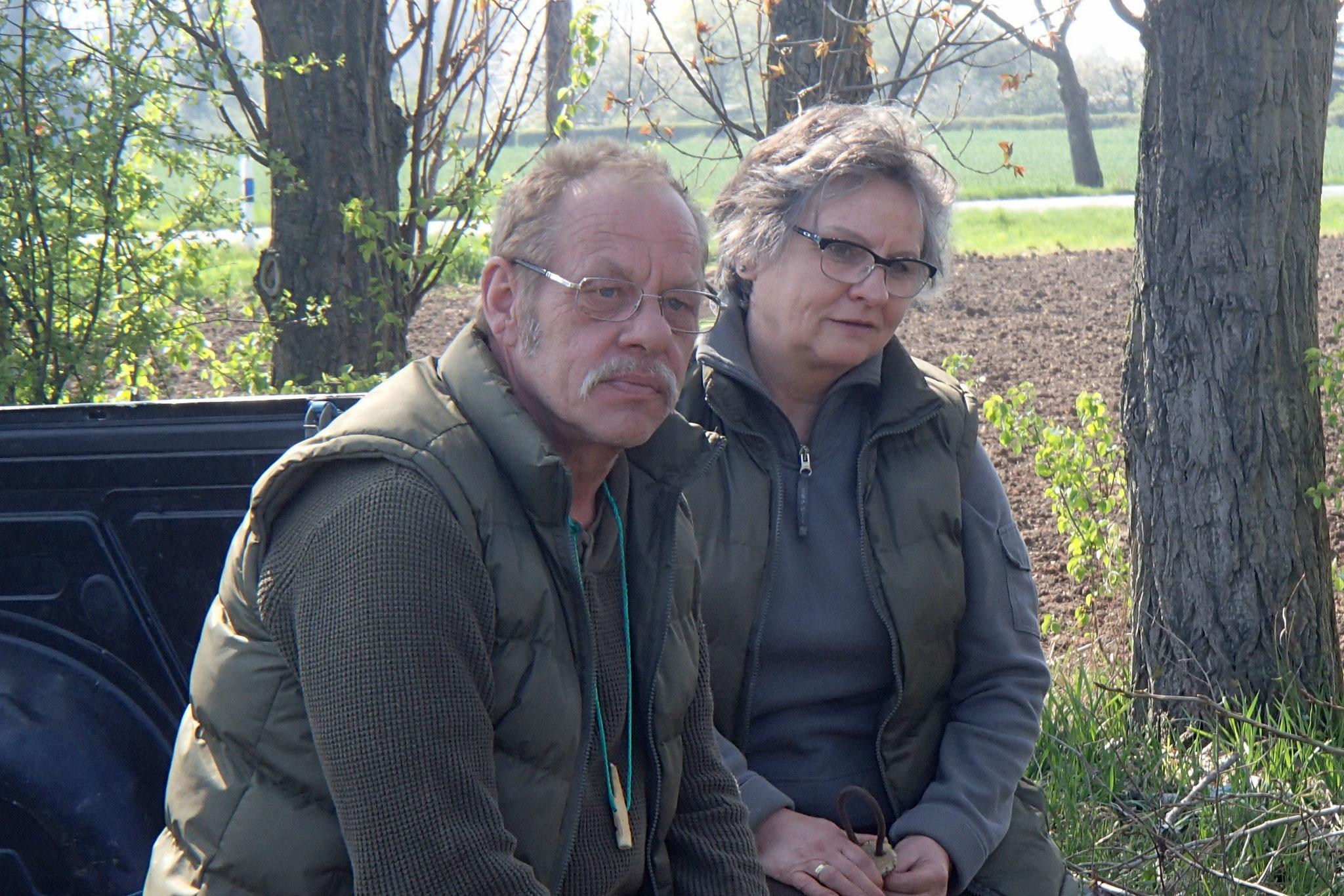 Carola und Lutz Staufenbiel sorgten für das Frühstück.