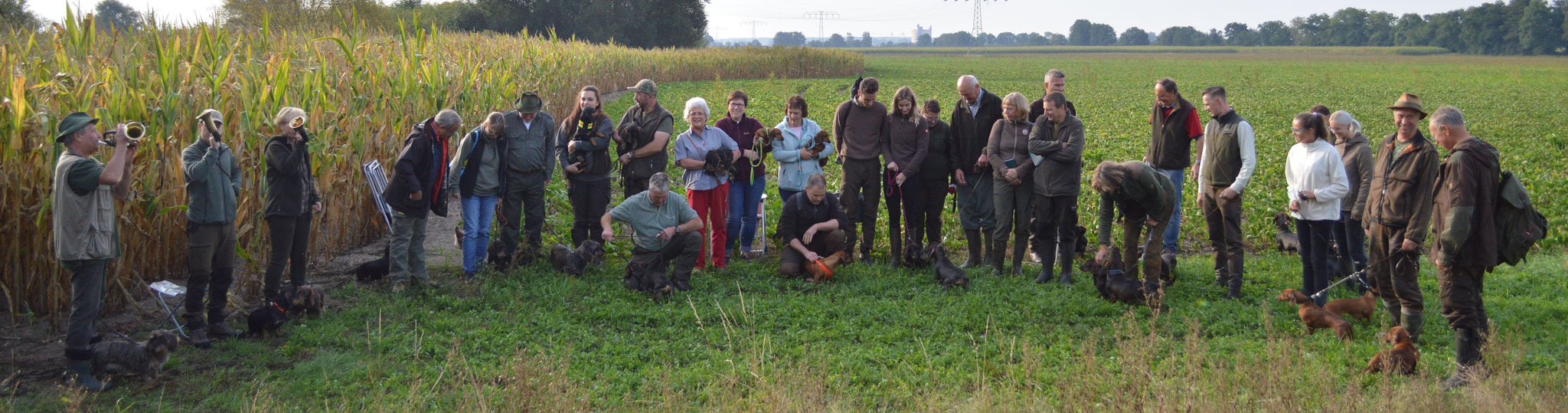 Prüfung Gruppenfoto