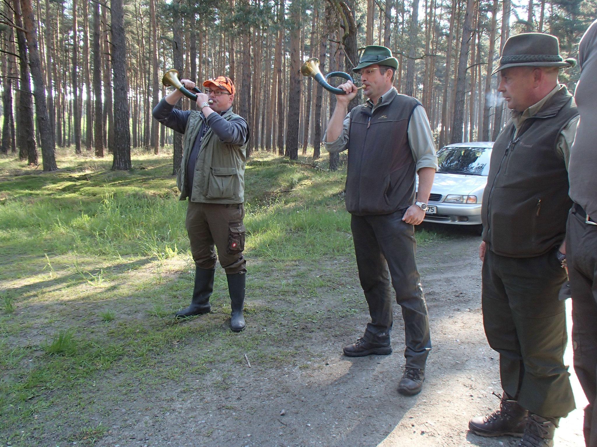 03 Unsere Jagdhornbläser
