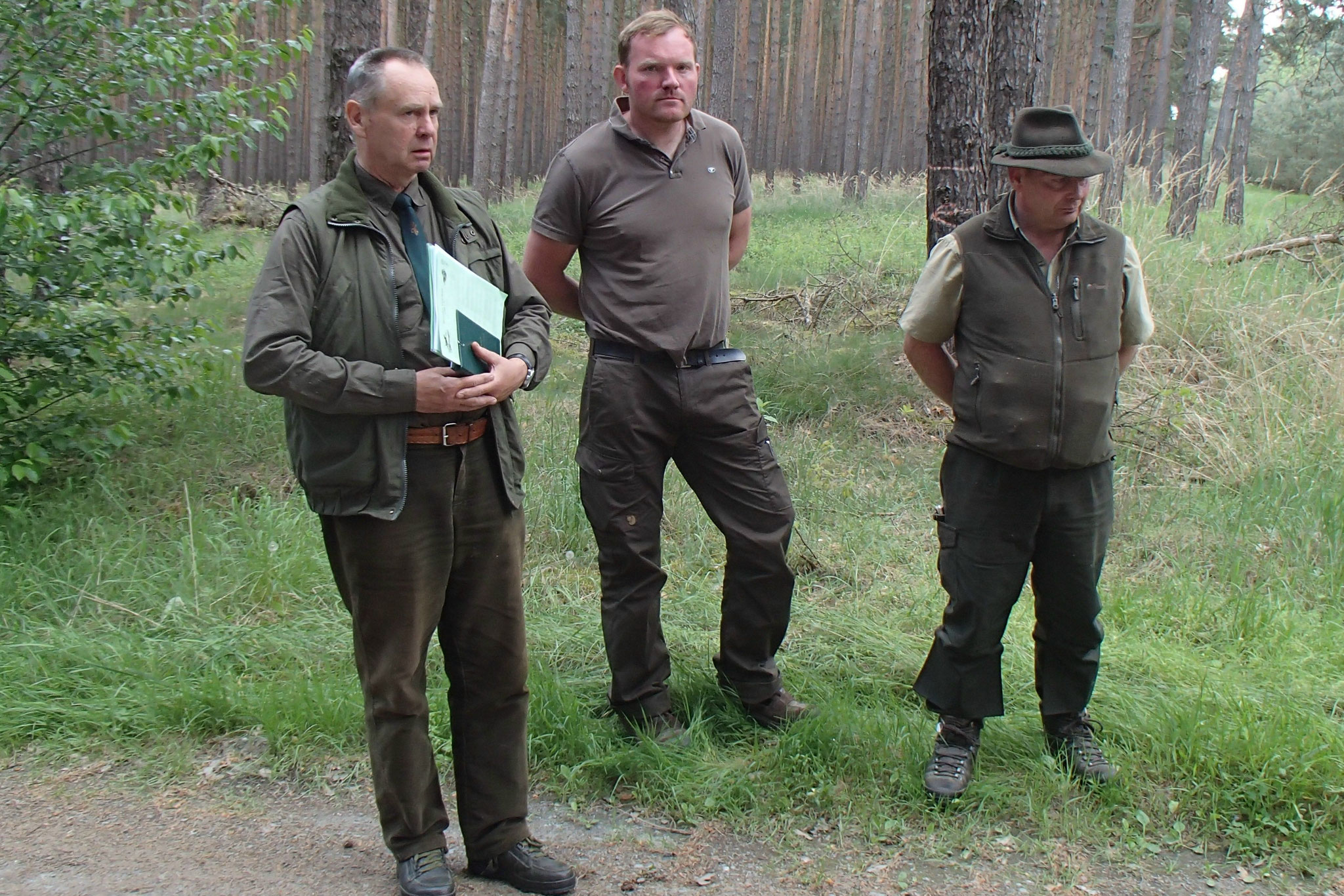 32 Unsere Richter - Hans-Joachim Brenz, Alex Heidmann und Dirk Bartsch