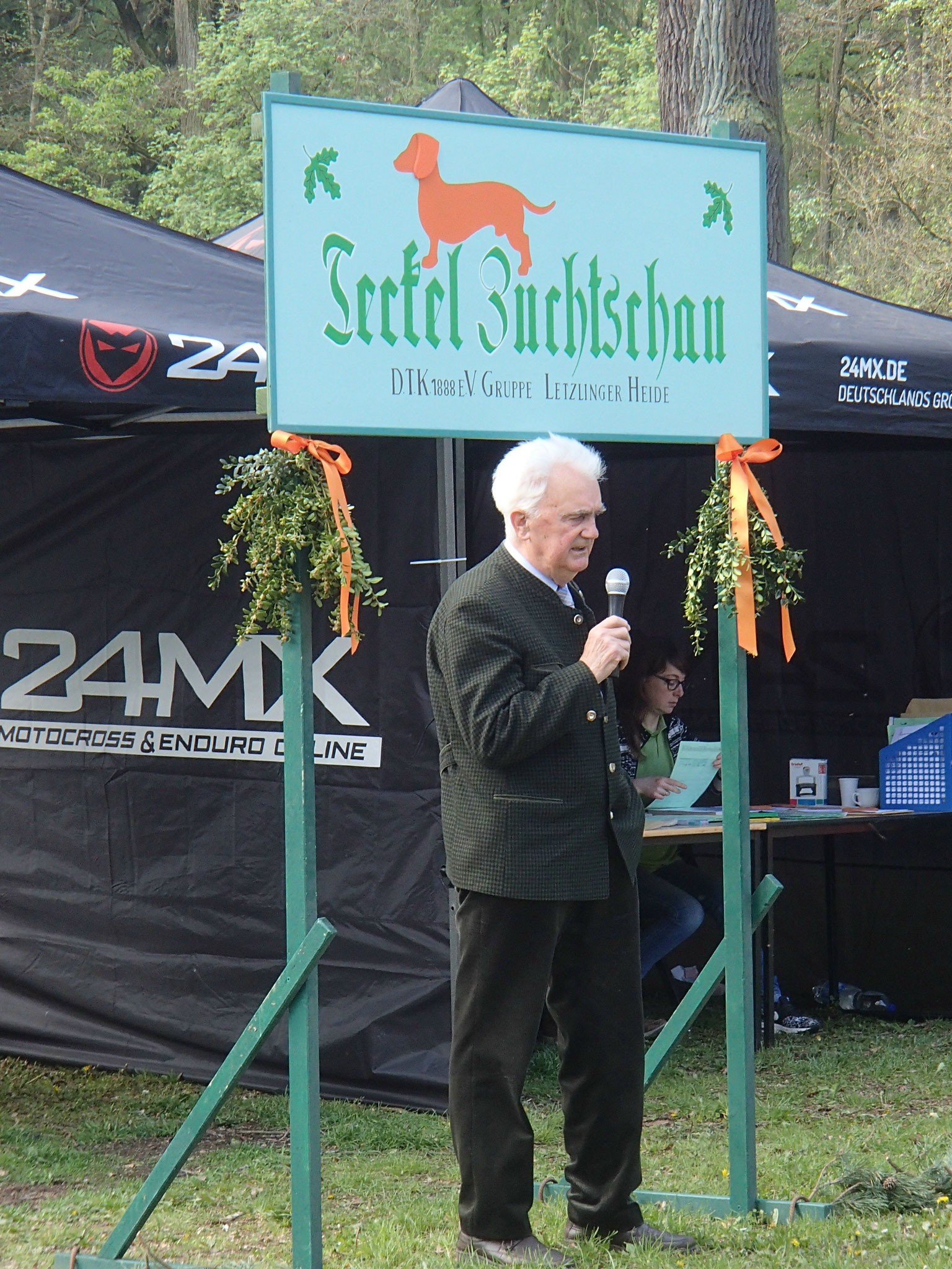 Richter Manfred Lange aus Lüdelsen in der Altmark