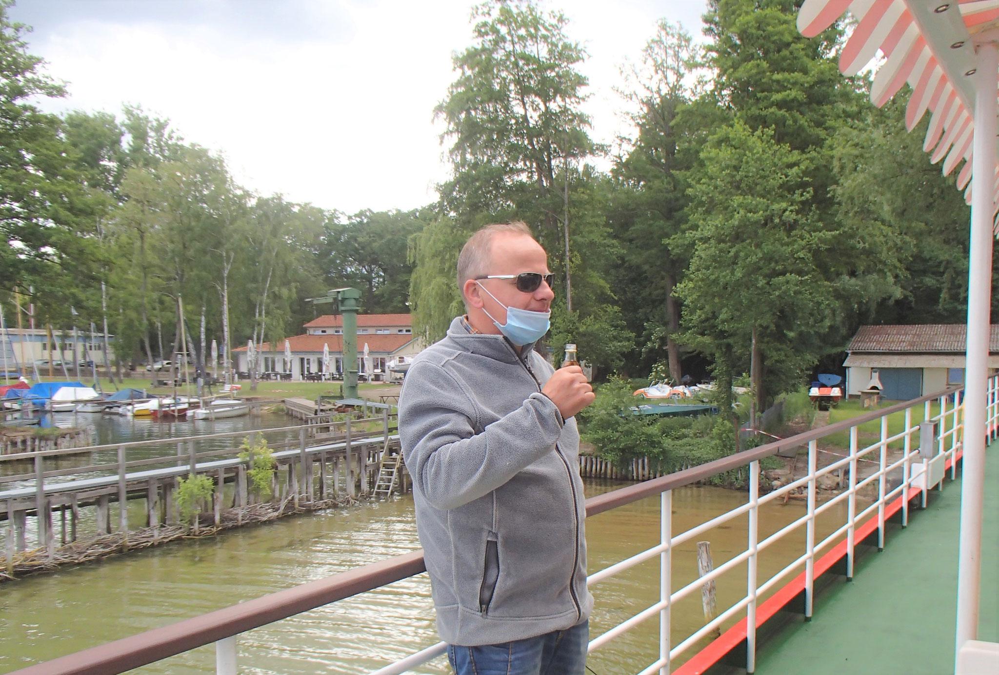 Das ist nicht der Schiffsjunge, das ist Jörg
