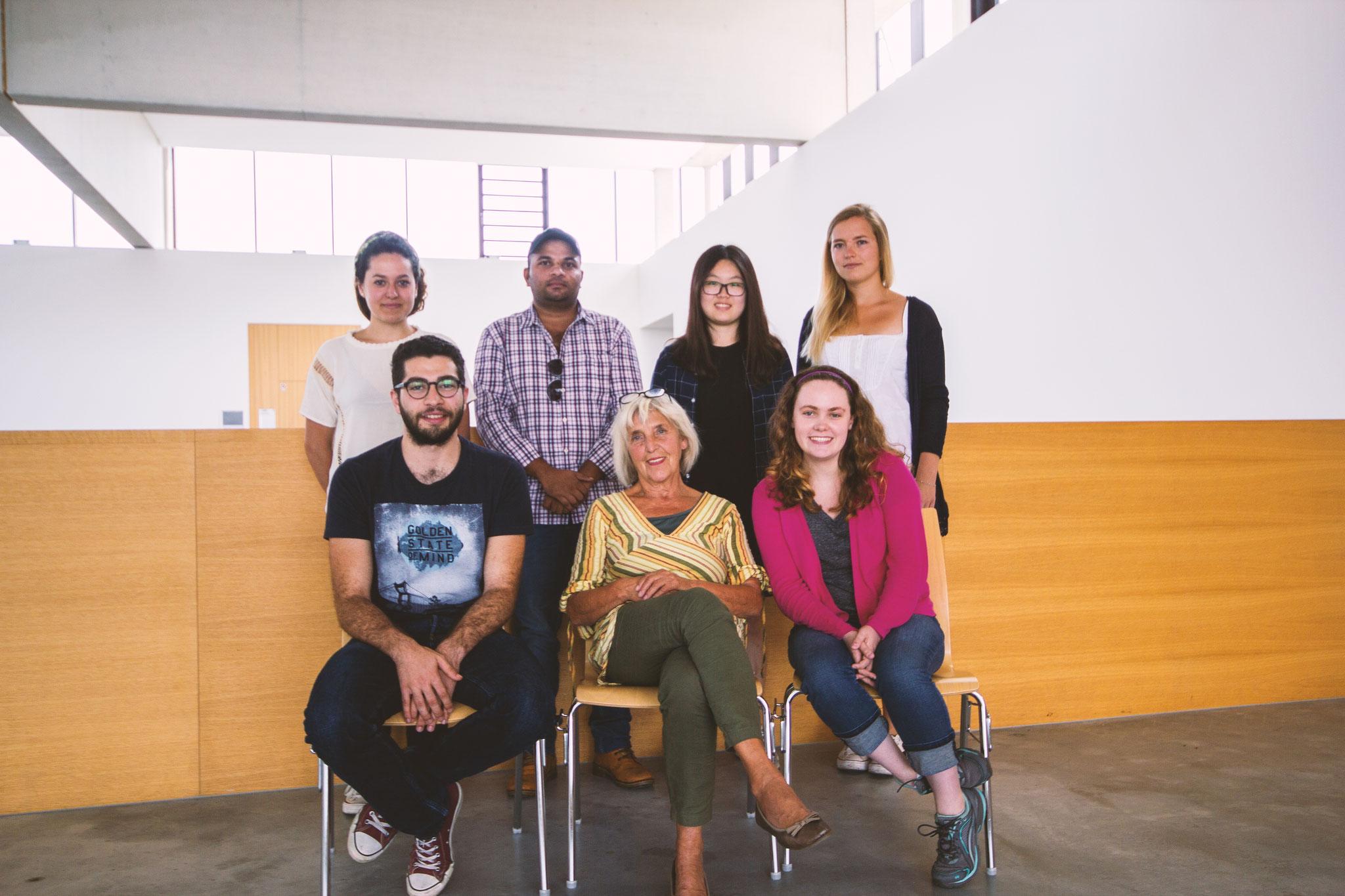 Deutsch lernen in Würzburg, Sprachkurs internationale Studierende mit Lehrerin