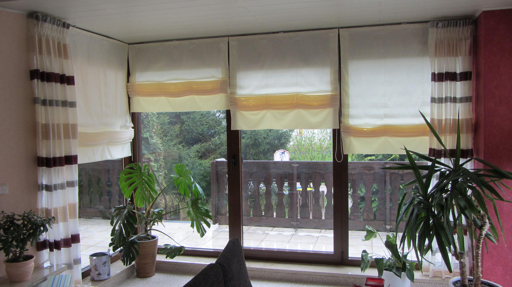 Frisch Fensterdekorationen Gardinen Beispiele Ideen