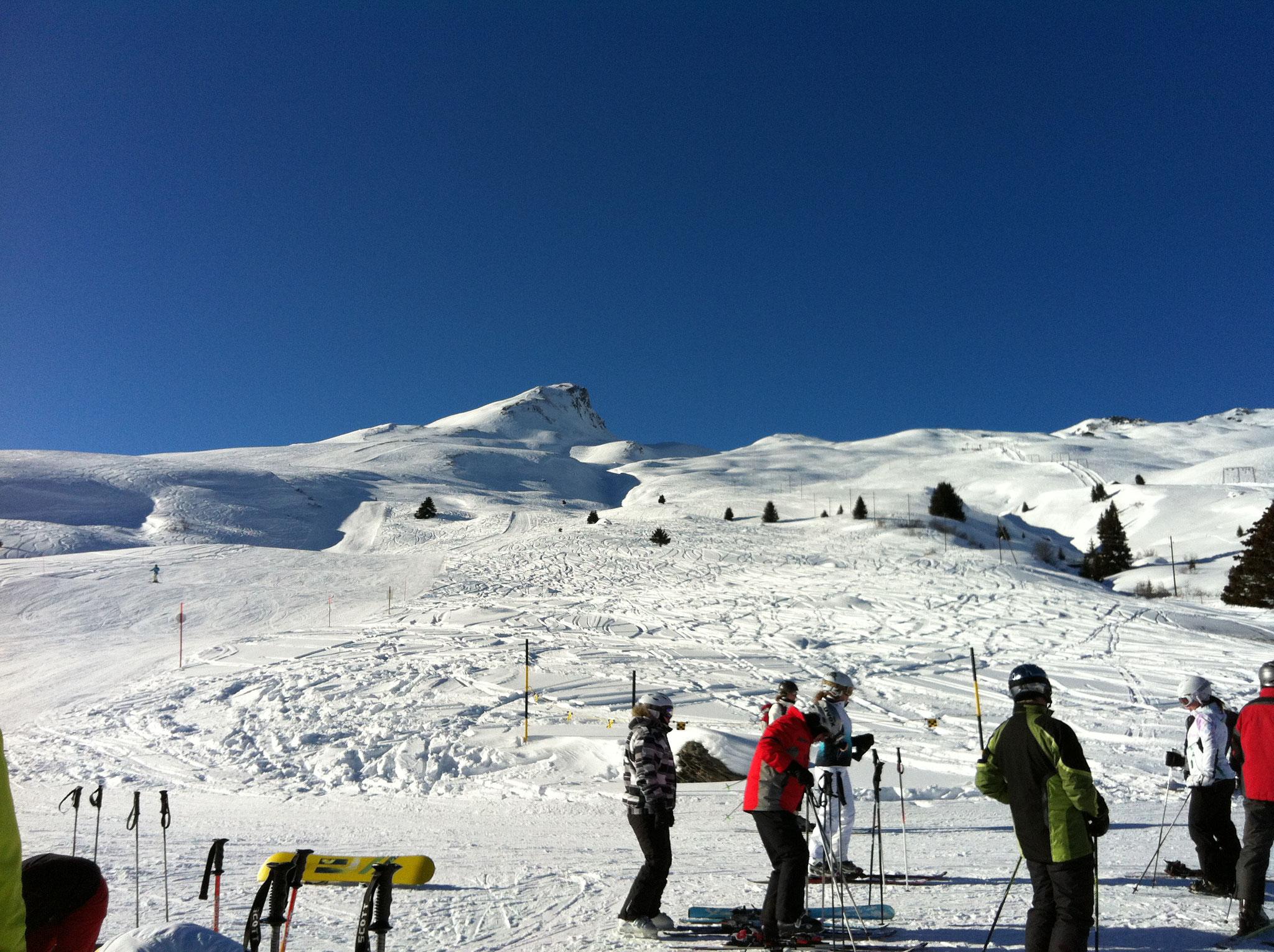Skigebiet bei Radons