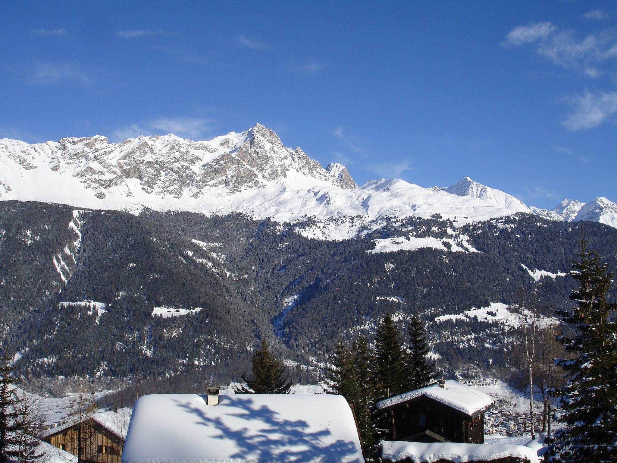 Panorama vom Ferienhaus