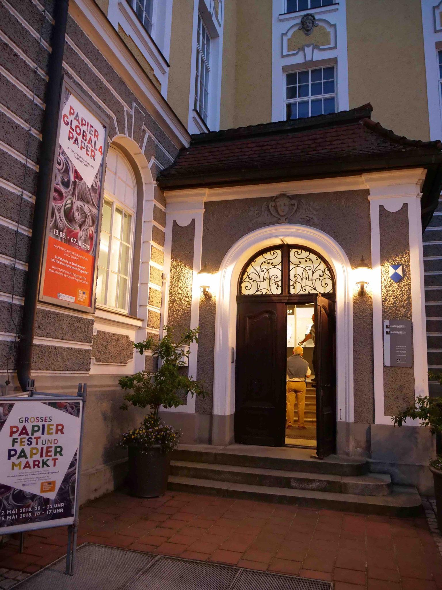 Eingang zum Stadtmuseum