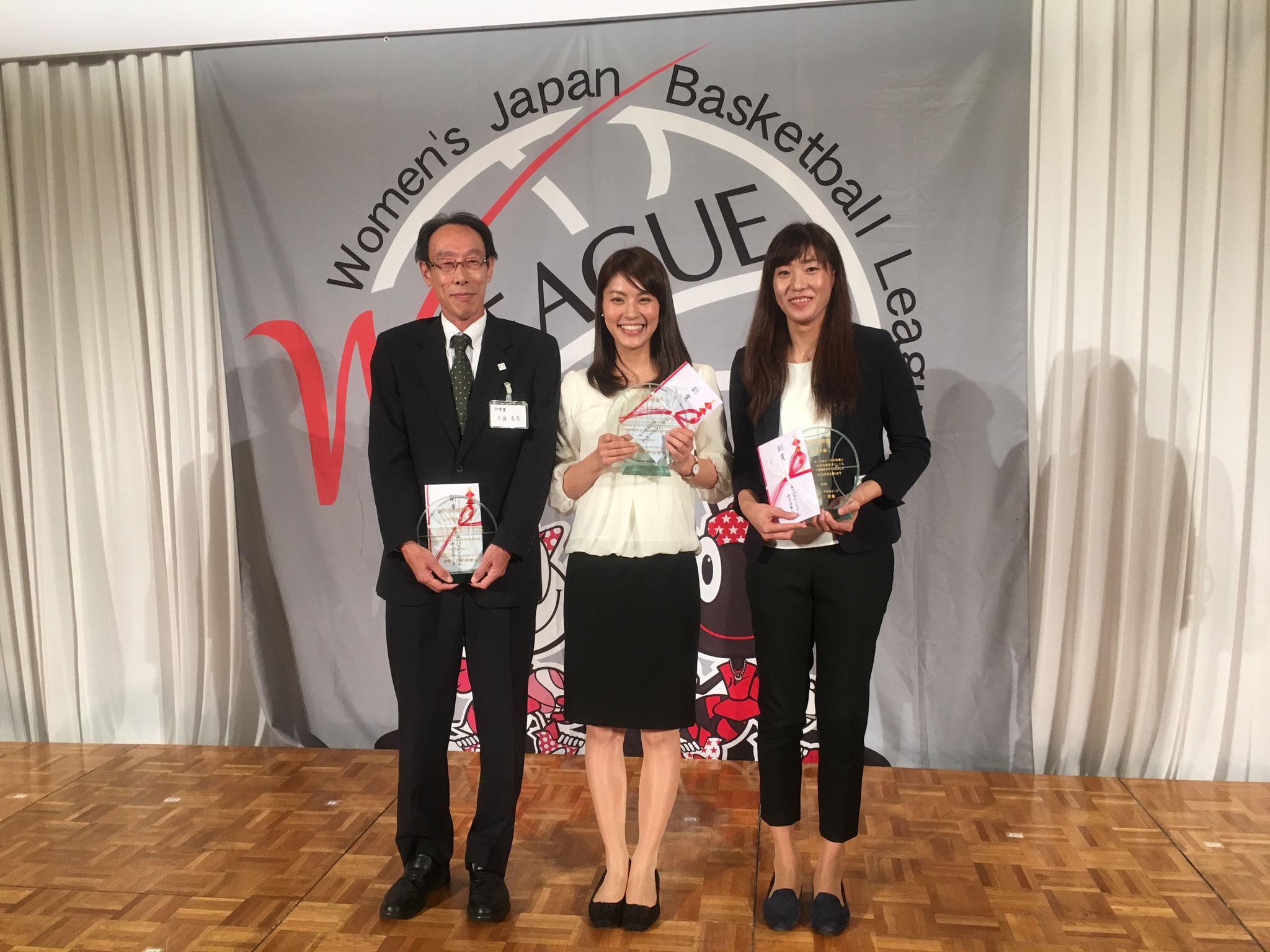 トヨタ紡織 兵藤さん、デンソー 大庭久美子さんと藤原有沙さん