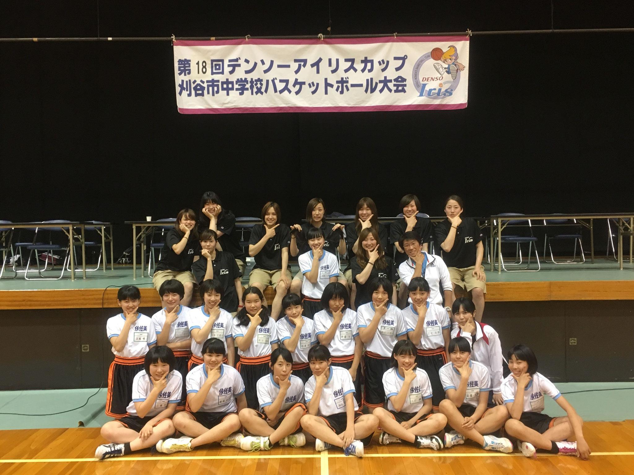 12位:刈谷市立依佐美中学校
