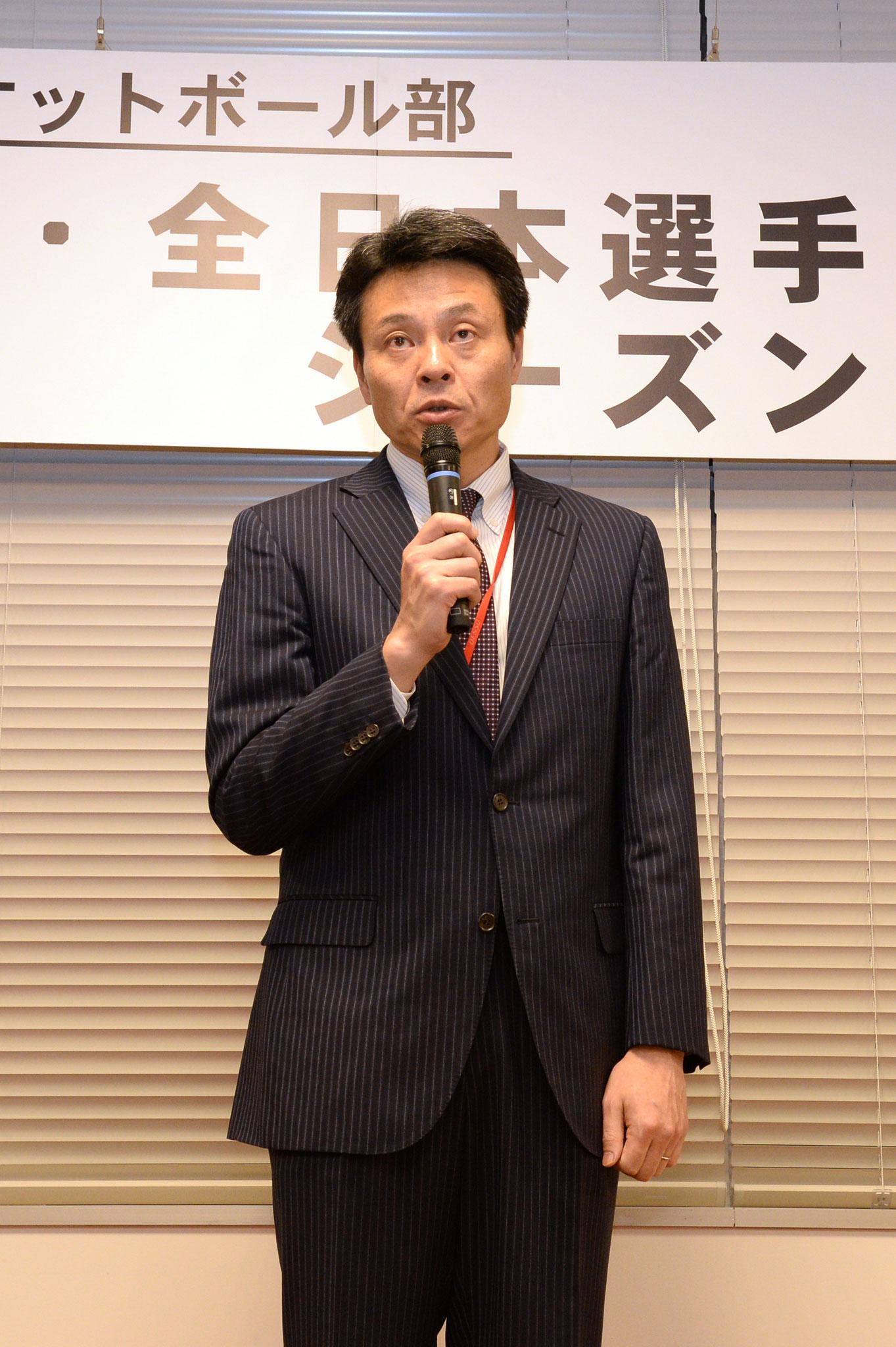 シーズン活動報告(小嶋ヘッドコーチ)