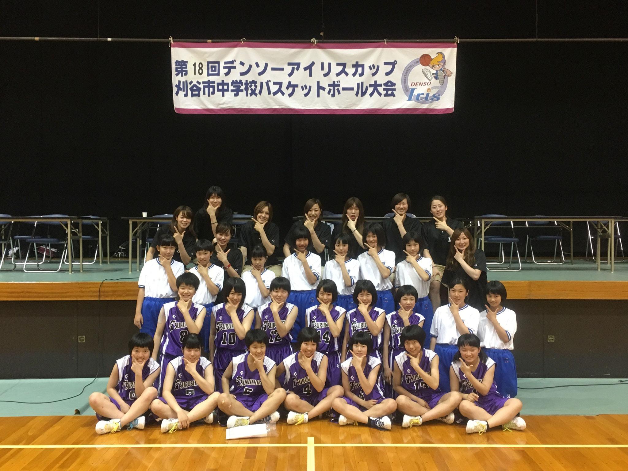 5位:西尾市立鶴城中学校