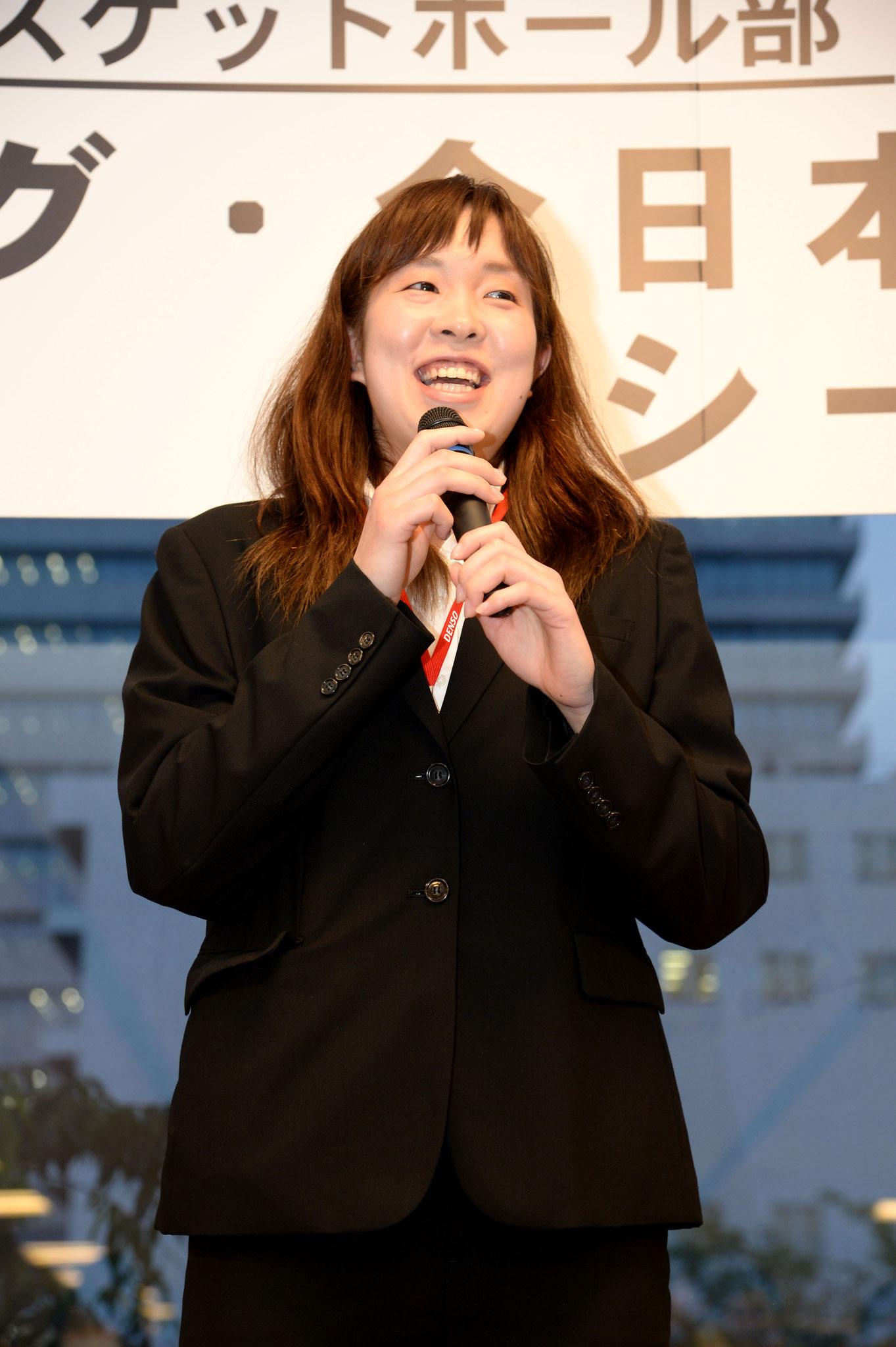 新入部員紹介 山田茉美選手
