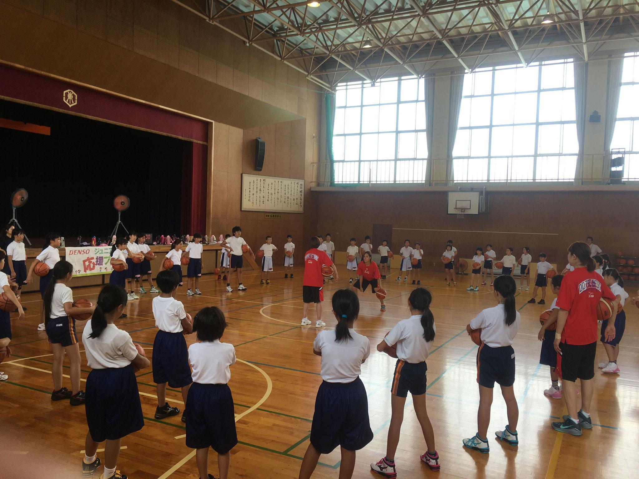 活動風景(刈谷市立富士松東小学校)