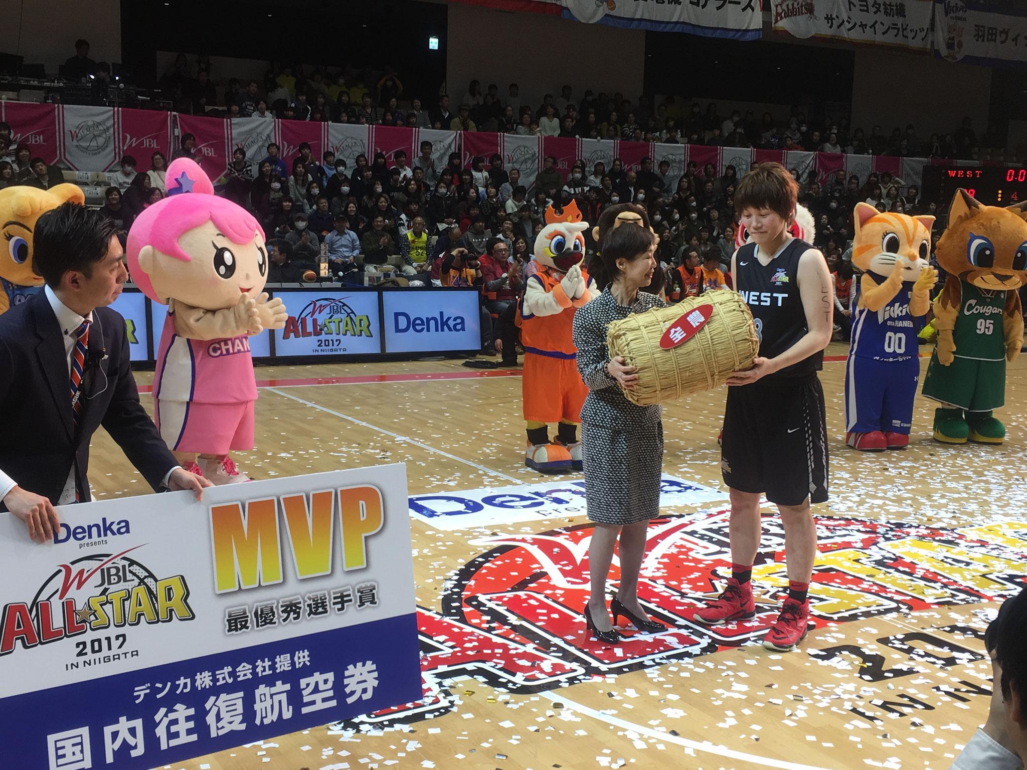 WEST #8 髙田真希選手 MVP受賞