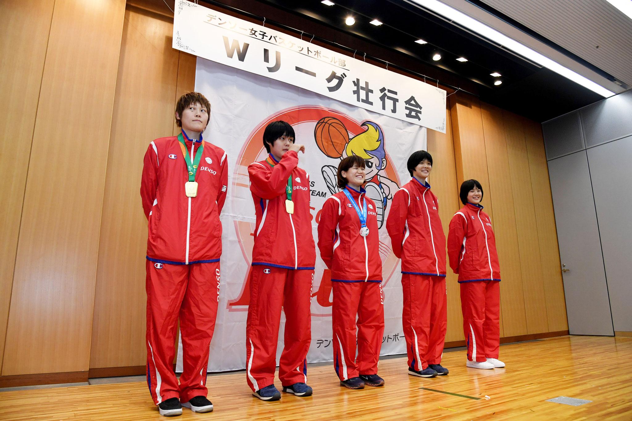 日本代表活動の報告