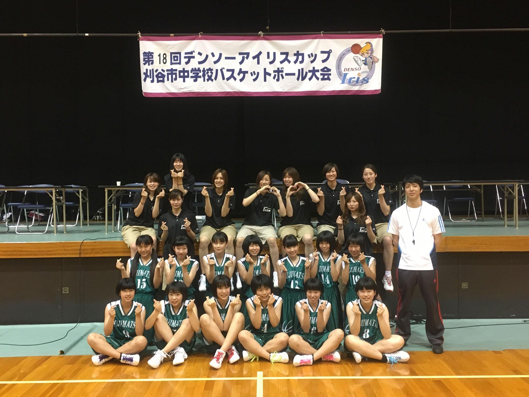 6位:刈谷市立富士松中学校