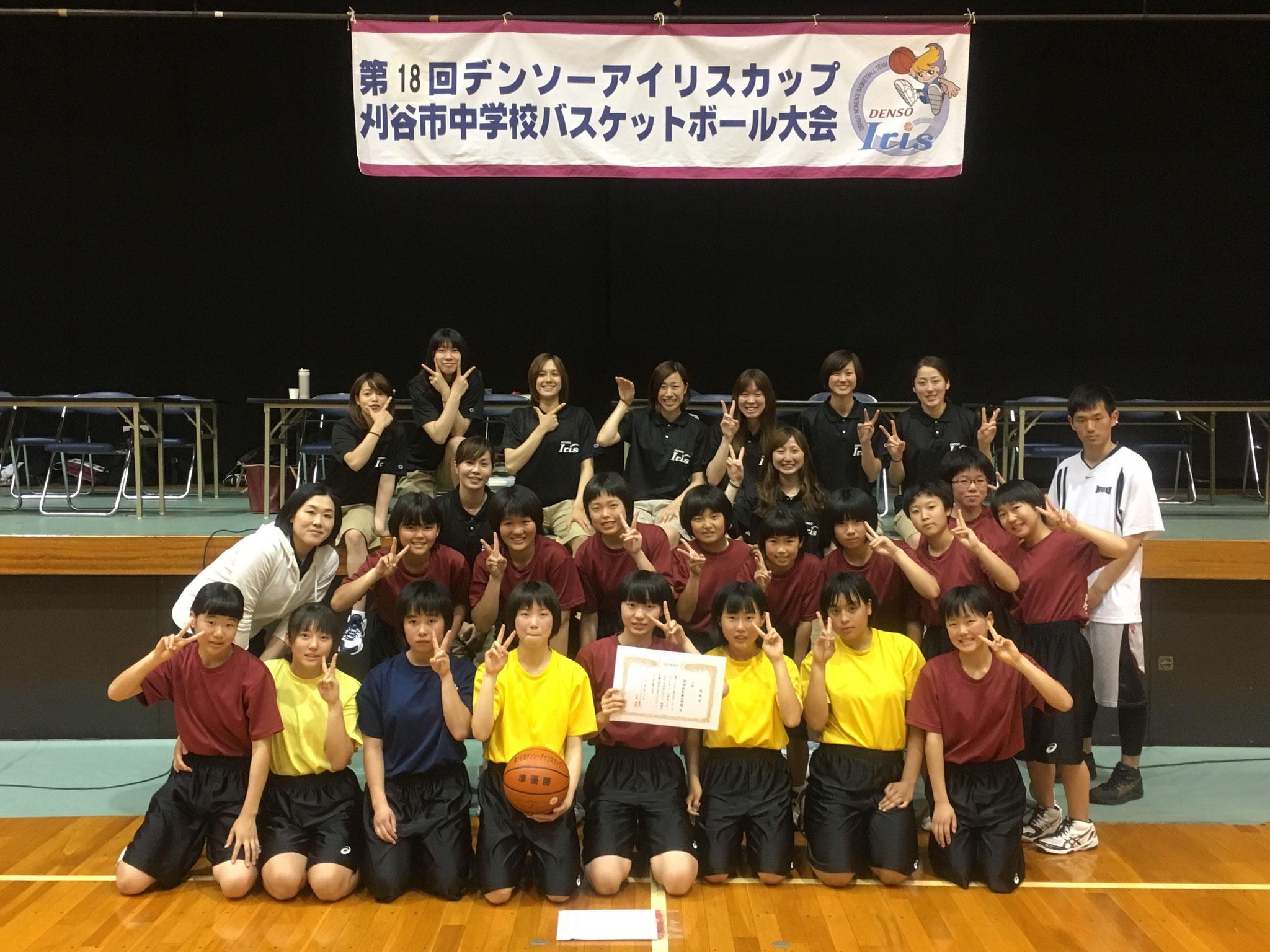 2位:岡崎市立南中学校