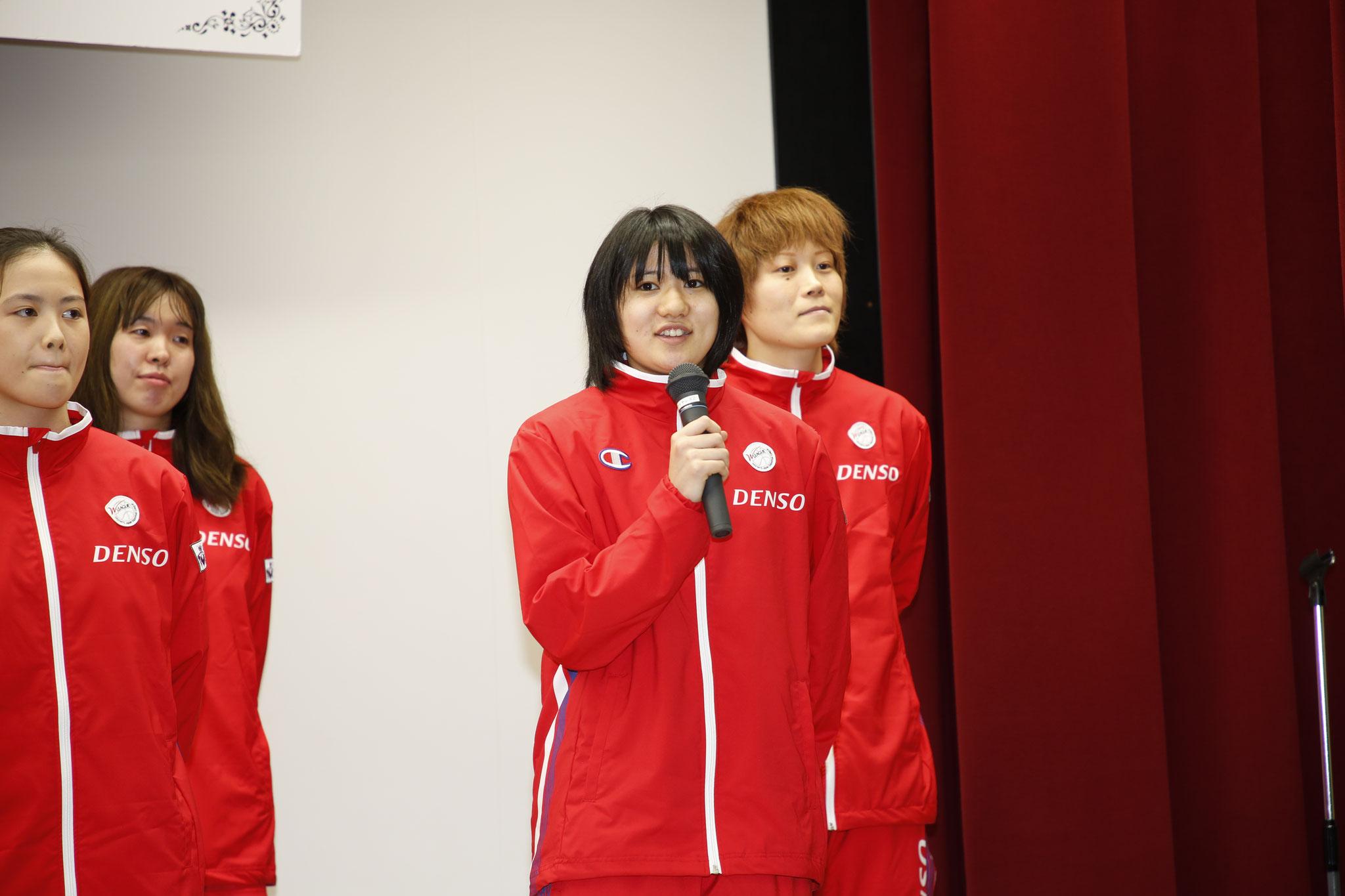 決意表明:石坂選手