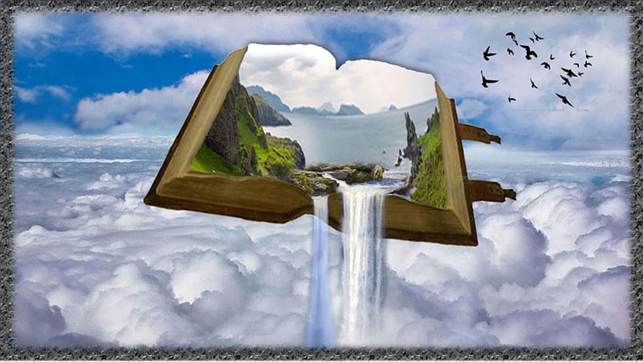 Aus Gottes Wort fließt Wasser des Lebens