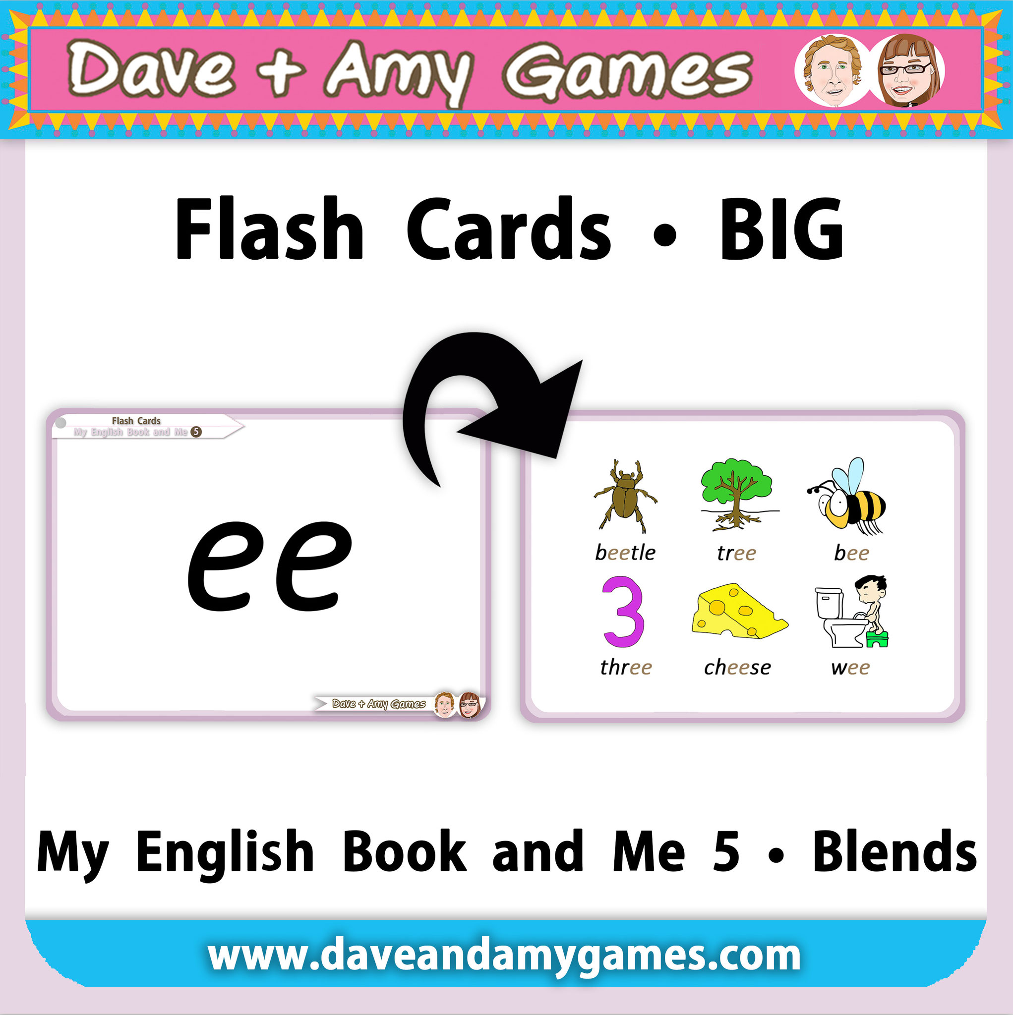 Blends Flashcards (big)