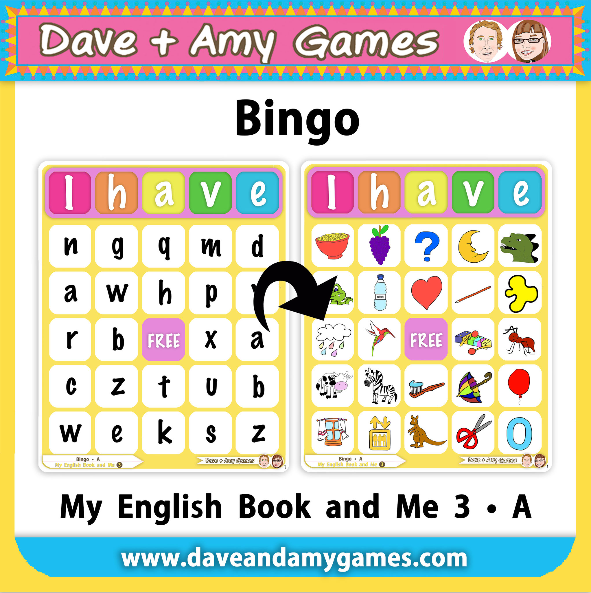 Bingo (2 ABC Phonics Level)