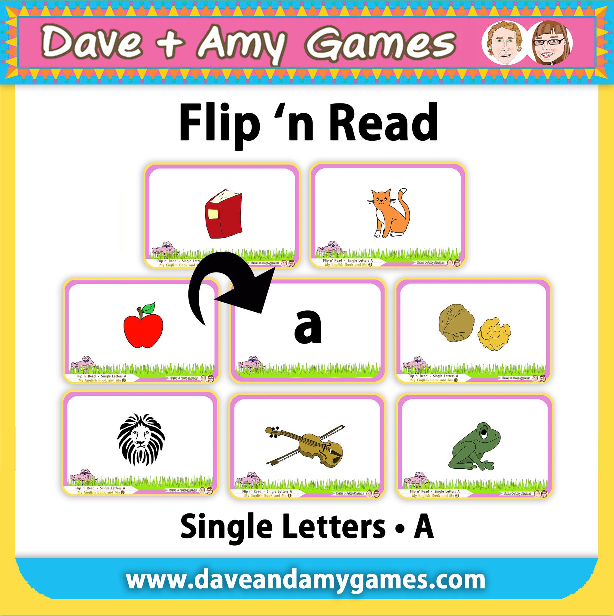 Flip 'n Read (3 ABC Phonics levels = 24 games total)