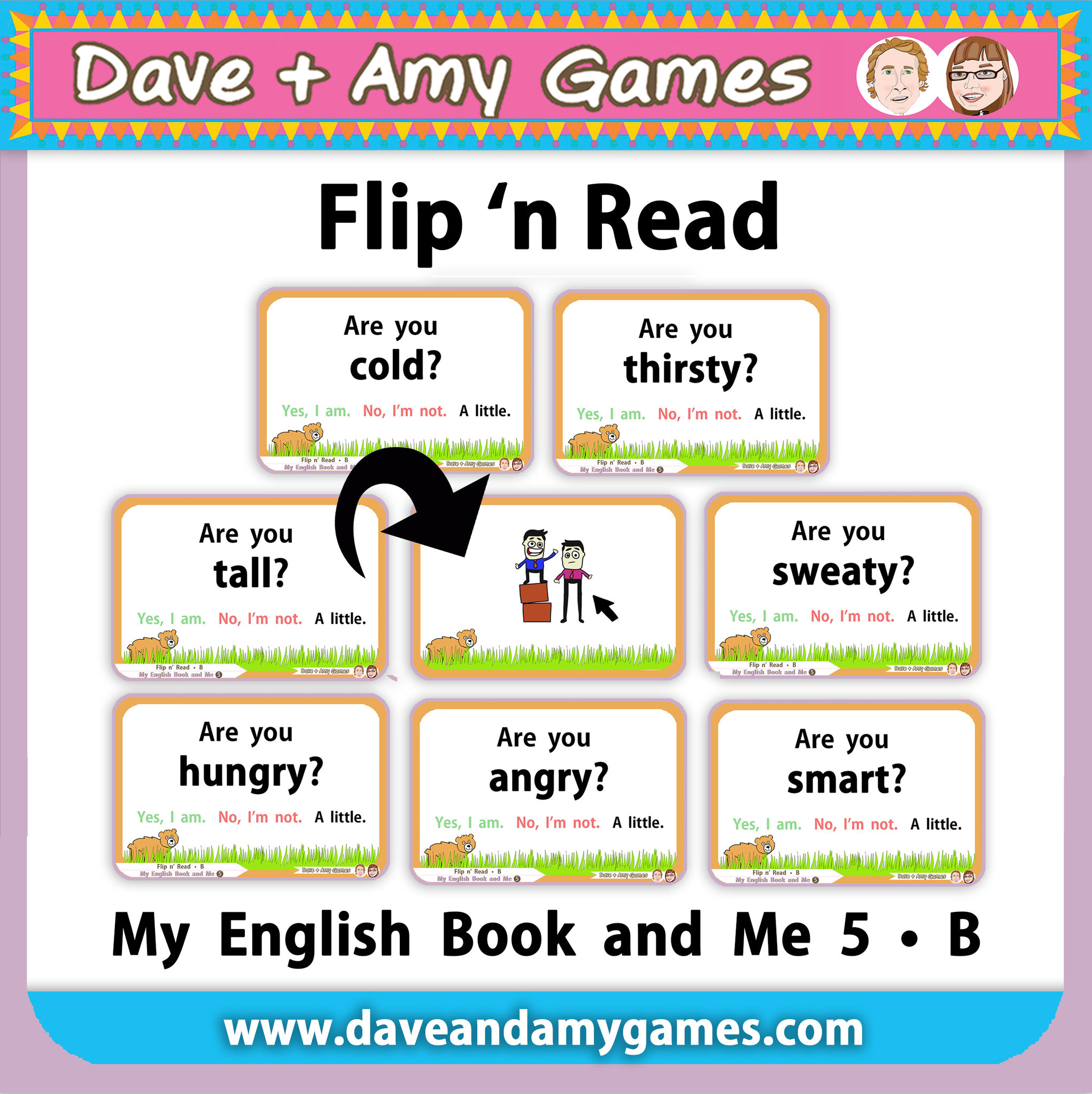 Flip n Read MEB5 Set B