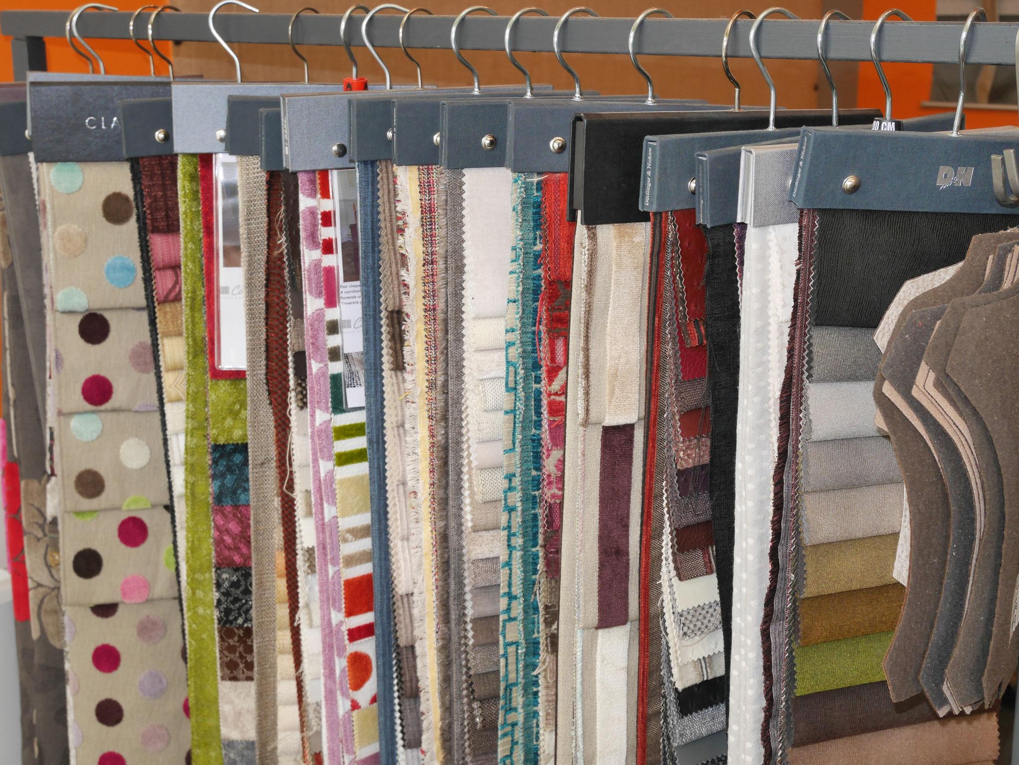 nos collections de tissu d'ameublement