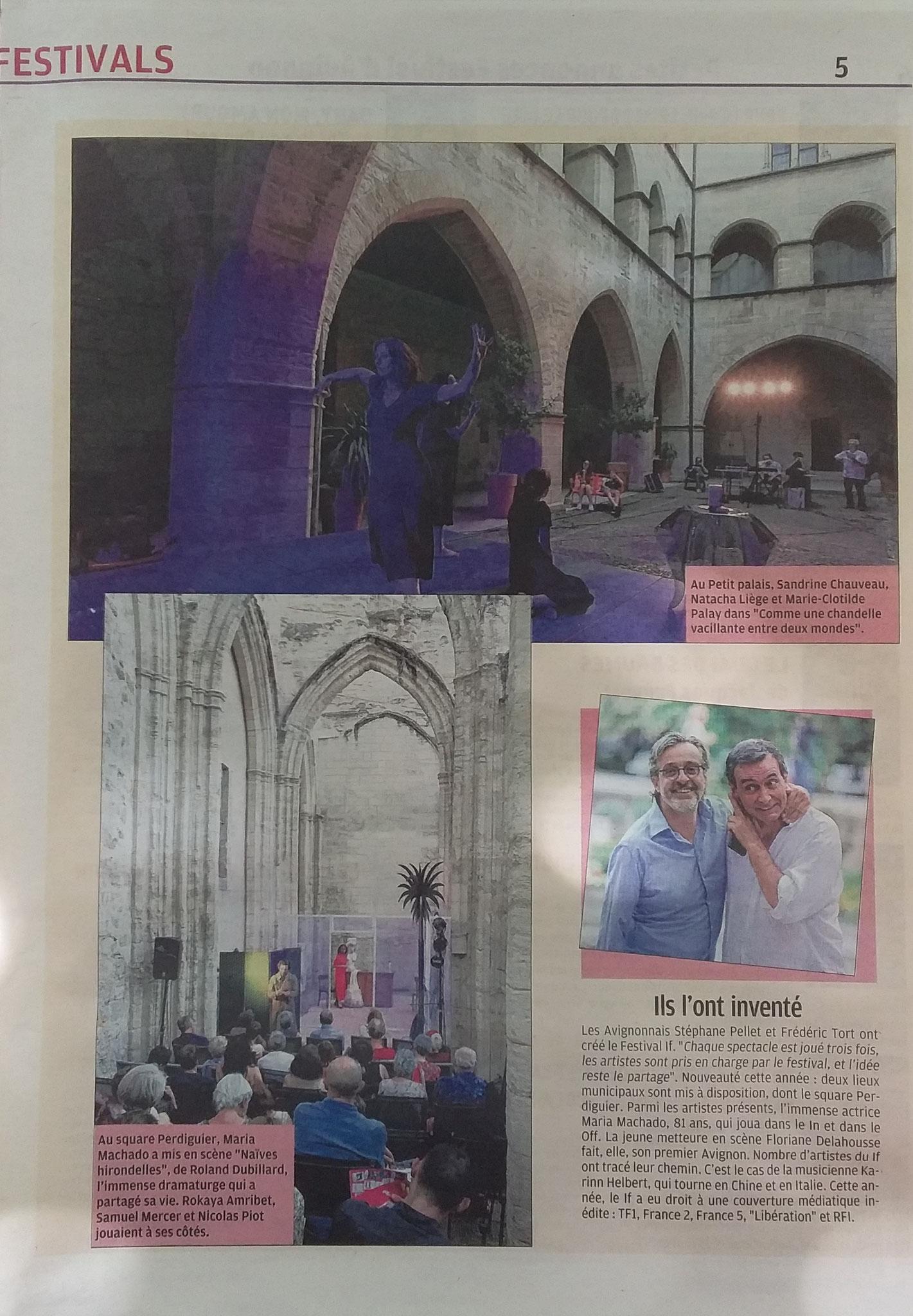 La Provence - Supplément Sortir du 17 juillet 2019