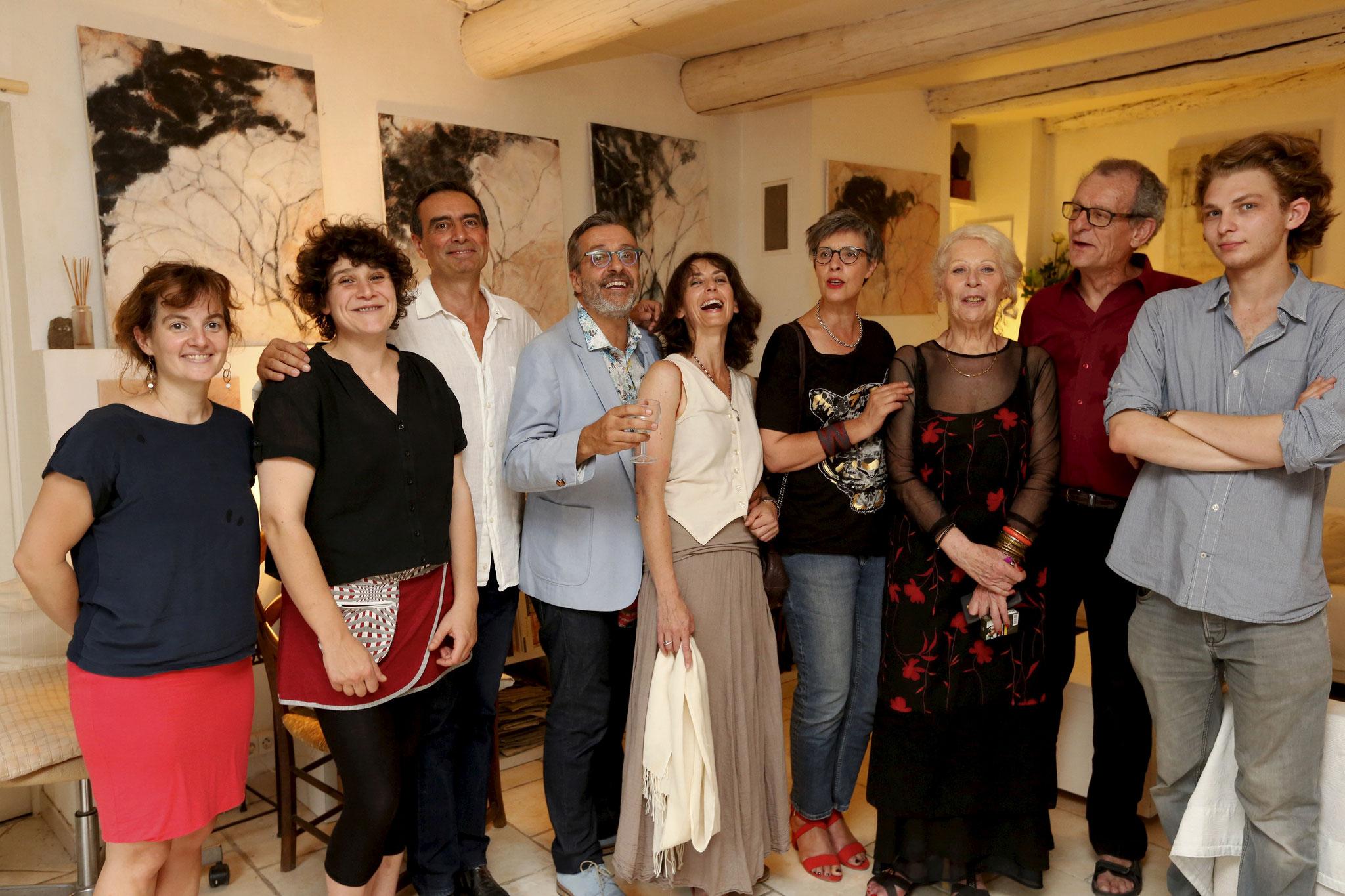 2017 - Marion Cousineau, Stéphane Pellet, Frederic Tort, Natacha Liège, Nathalie Campredon, Paule Tavera, Robert Guillot, Paul Berardi - ©Jérôme Rey