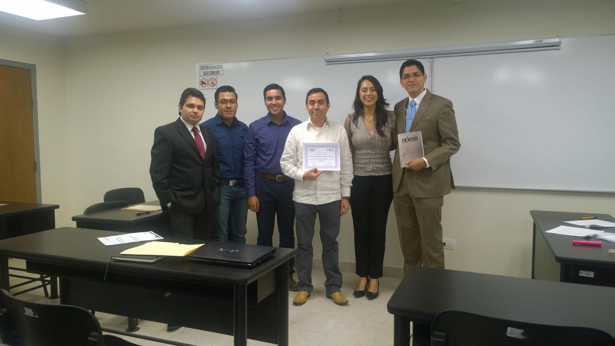 Con IMEF universitario, 2016.