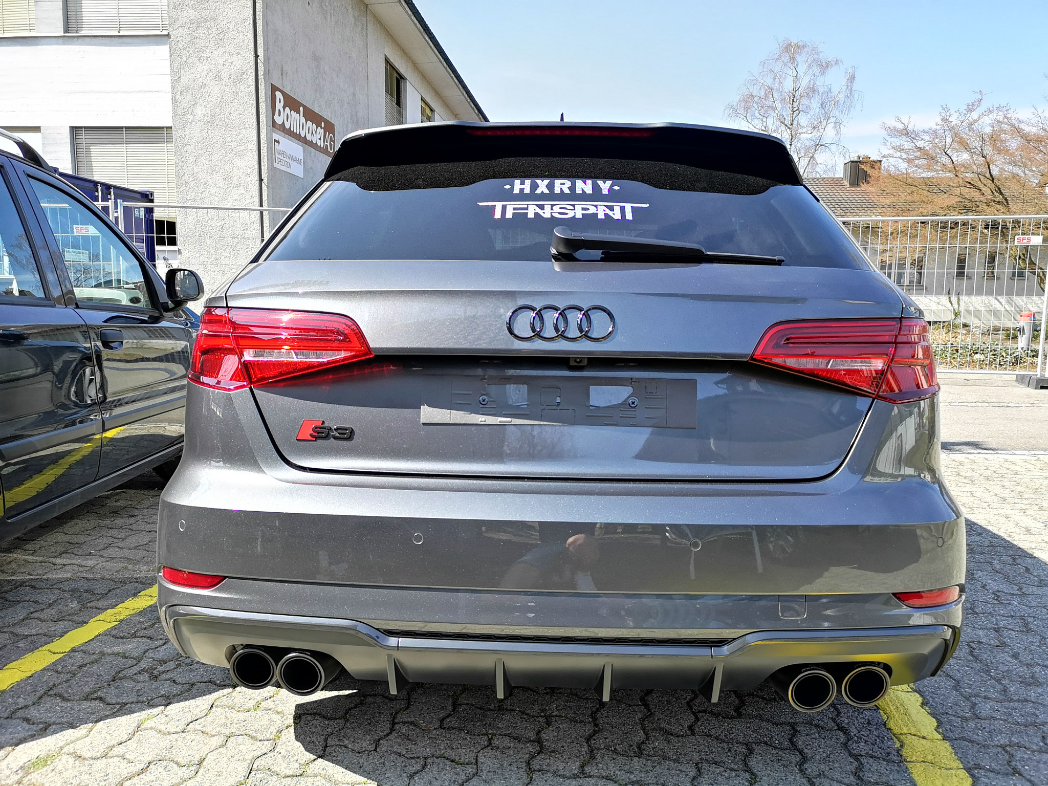 Audi Ringe Hinten