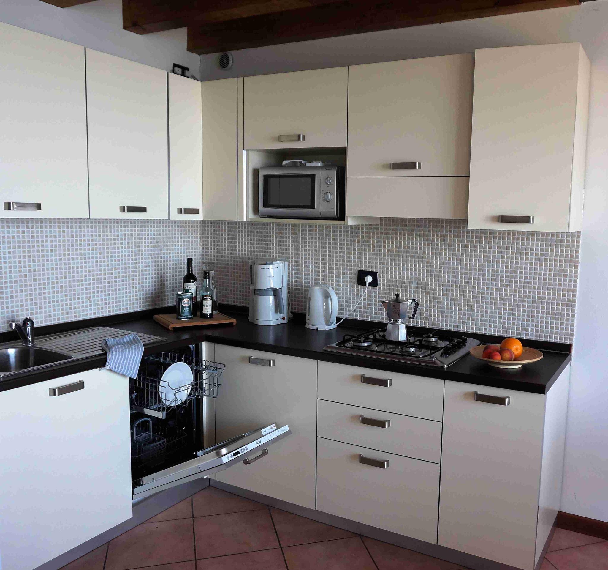 appartement20 - Kitchenette mit Geschirrspülmaschine
