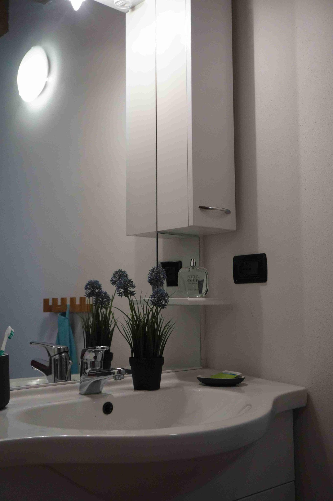 Appartement20 - Waschbereich  Nahaufnahme