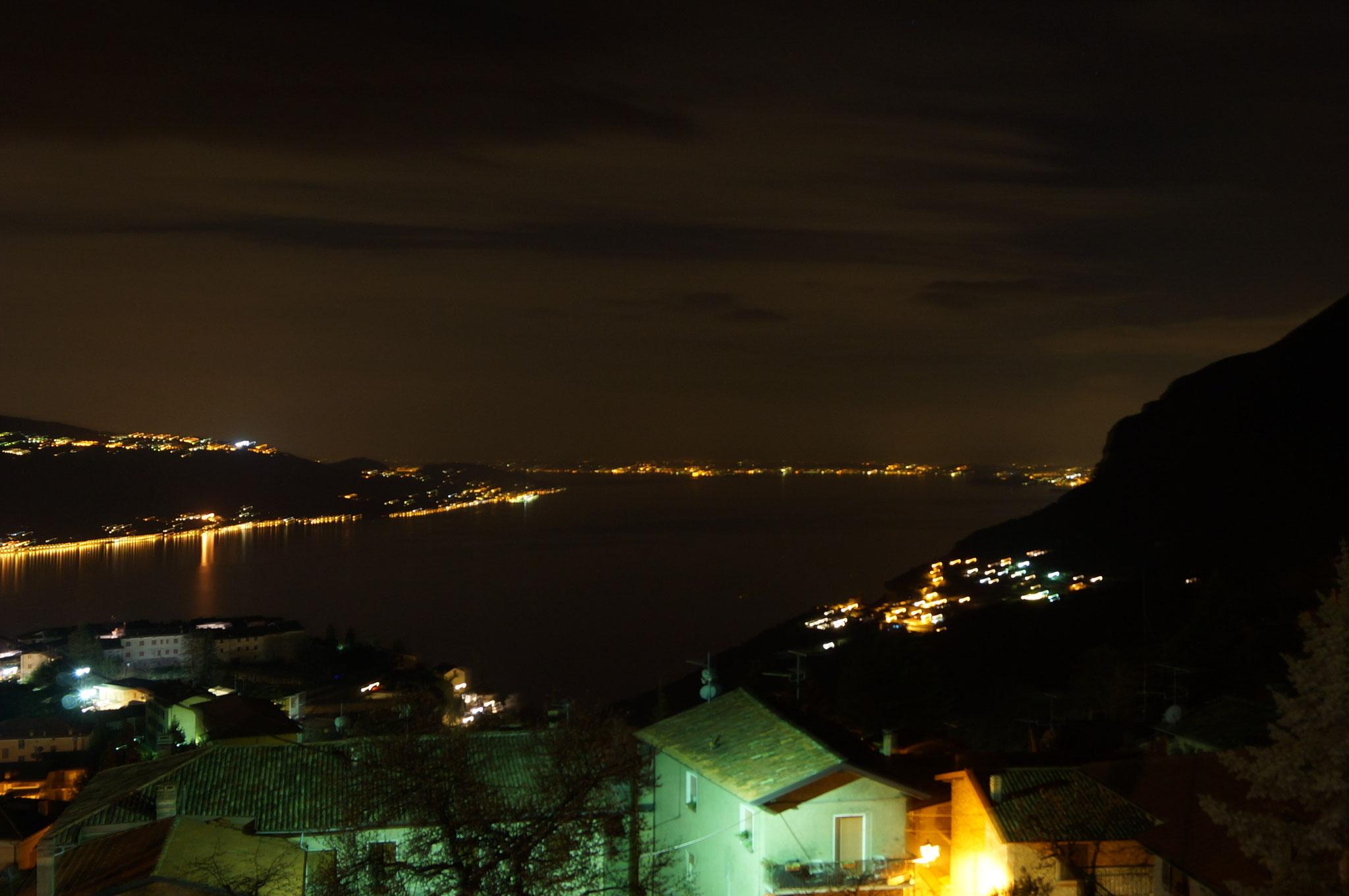 appartement20 - Blick vom Balkon am Abend