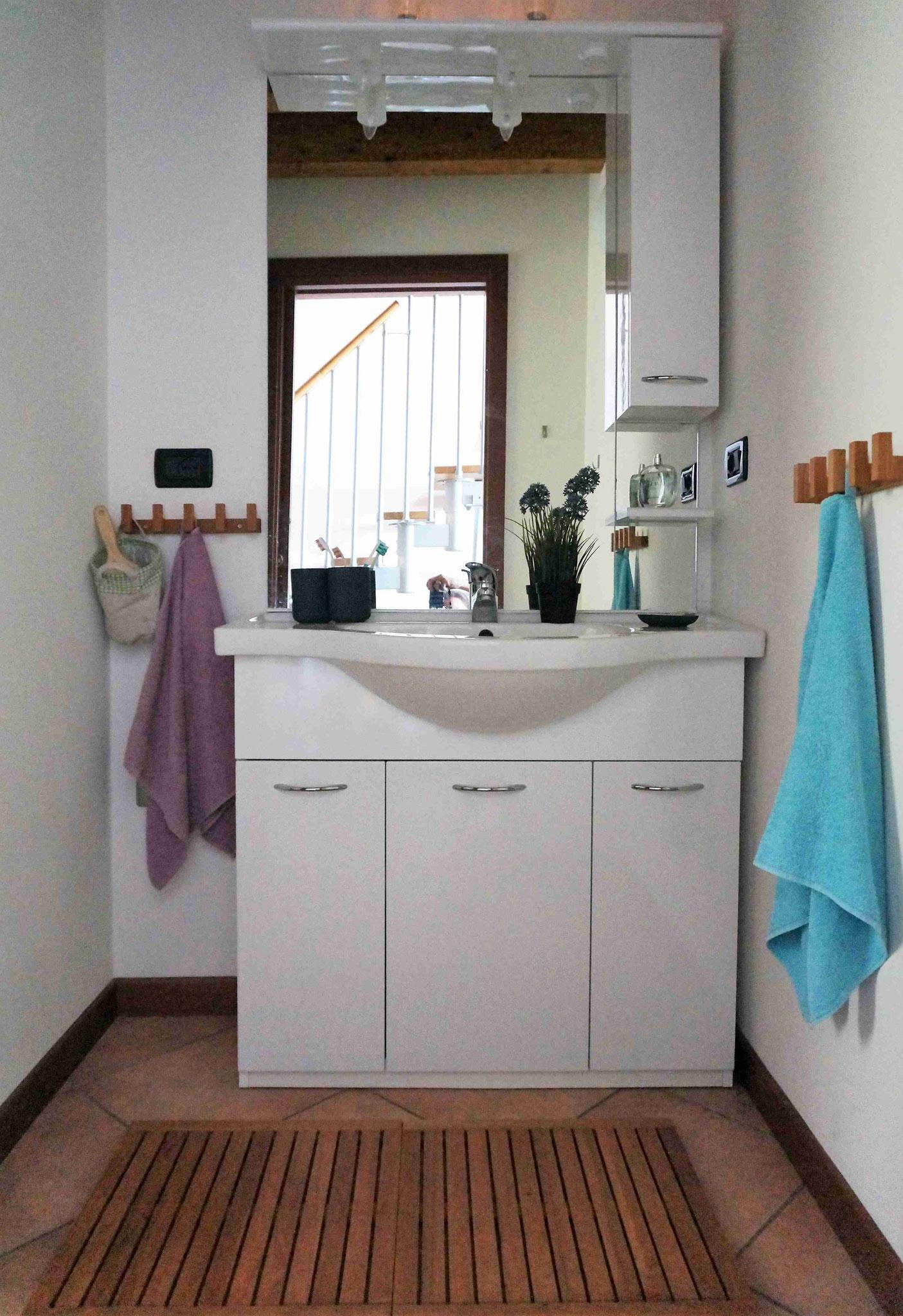 Appartement20 - getrennter Waschbereich
