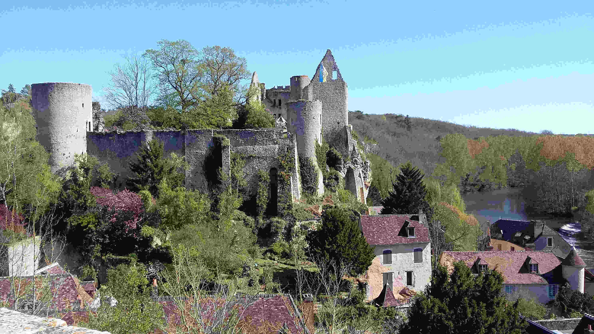 Chateau d'Angles-sur-l'Anglin