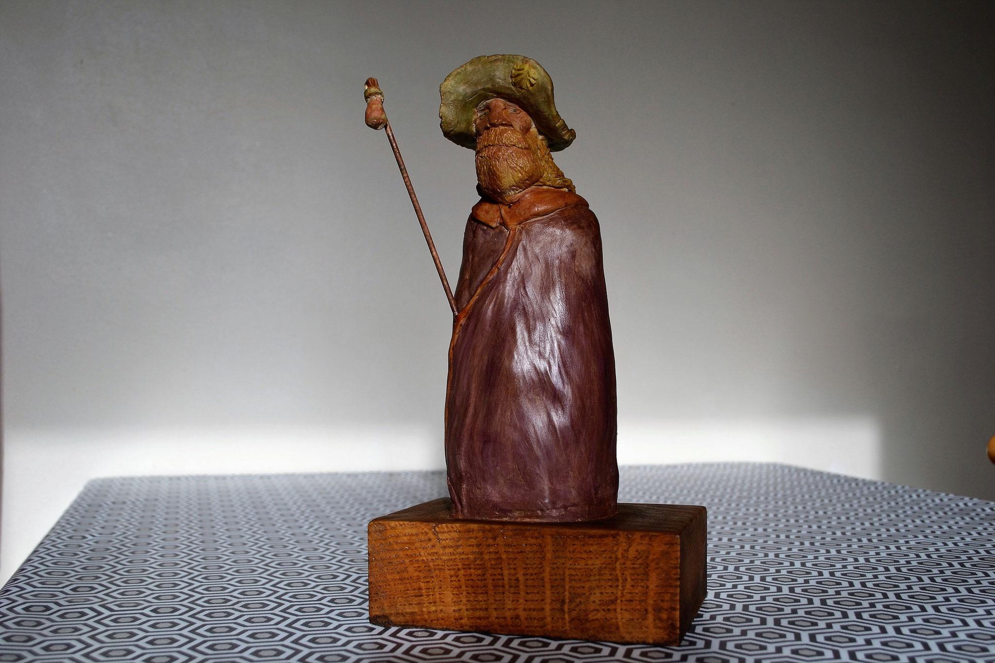 Statuette d'un Jacquet.