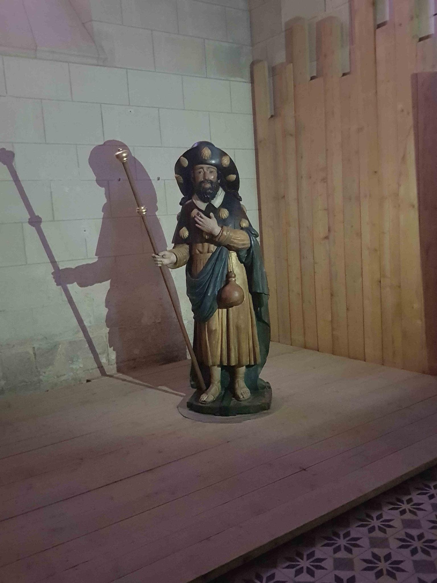 Statue de Saint Jacques.