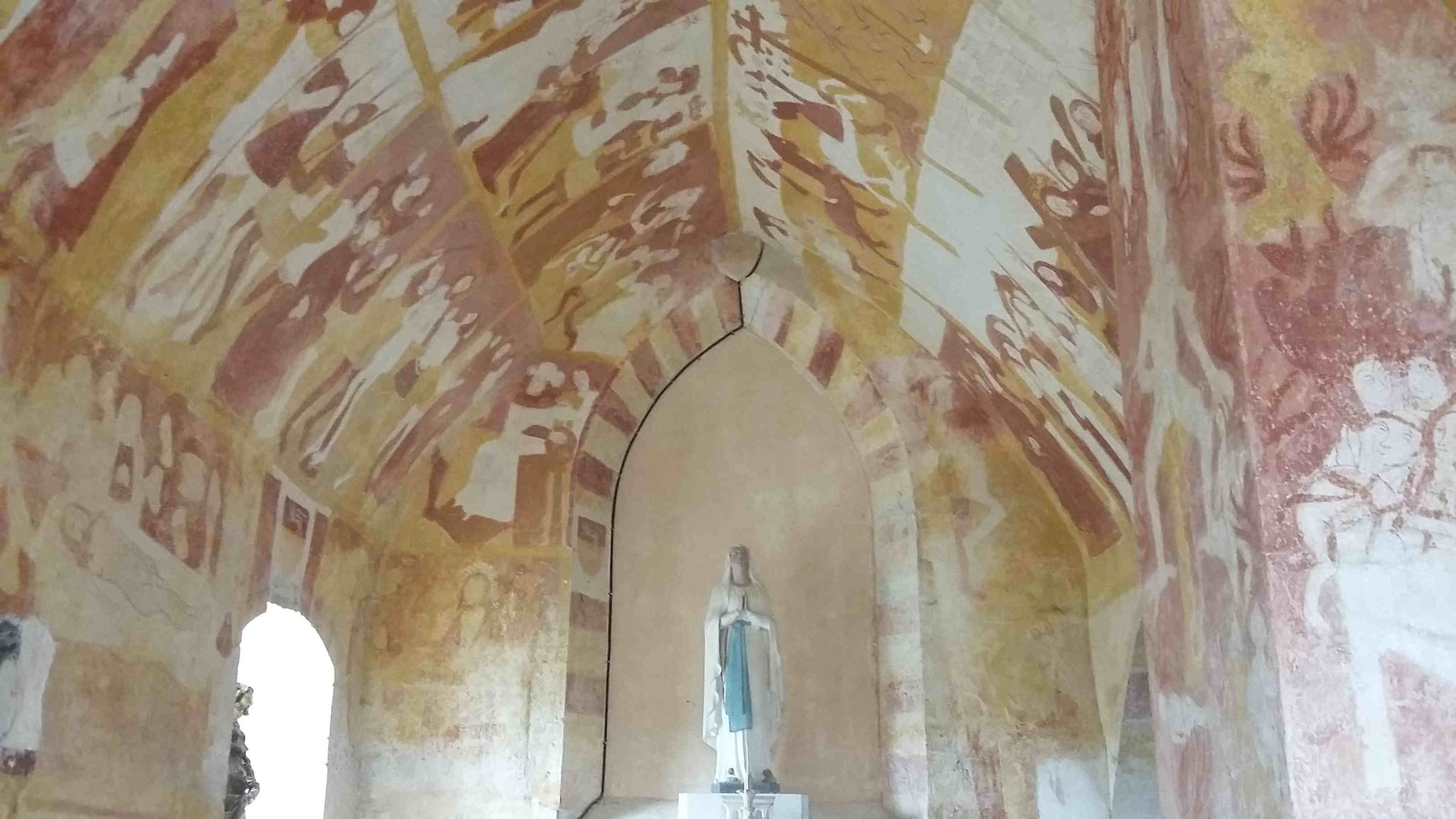 Chapelle Sainte-Catherine de l'église d'Antigny