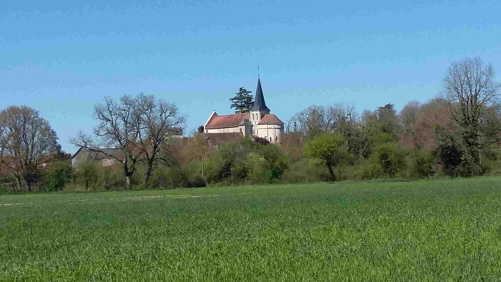 Eglise de Vicq-sur-Gartempe