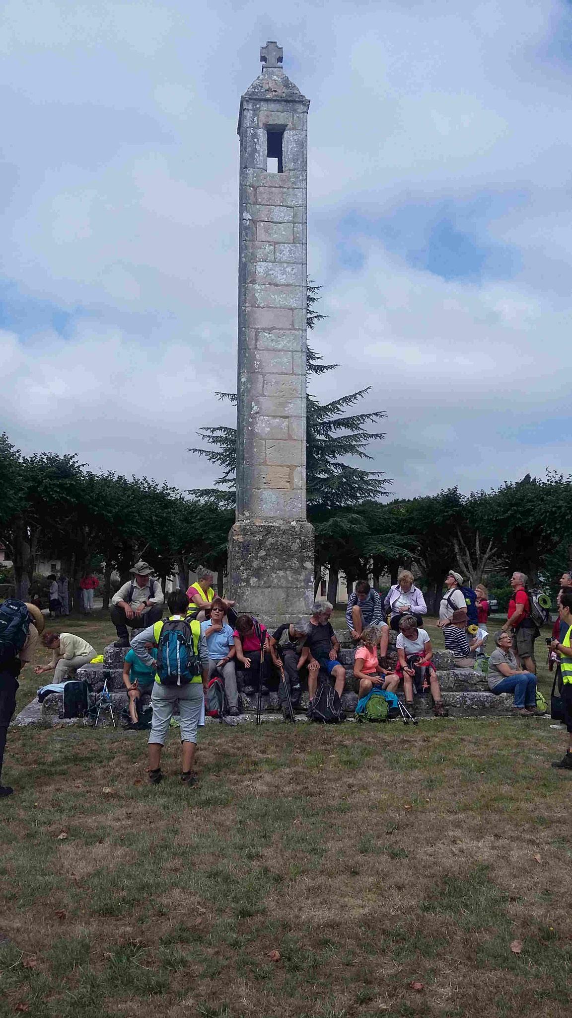 Lanterne des morts d'Antigny
